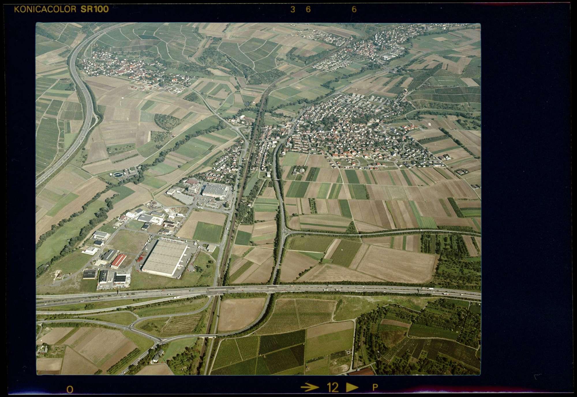 Ellhofen, Luftbild, Bild 1