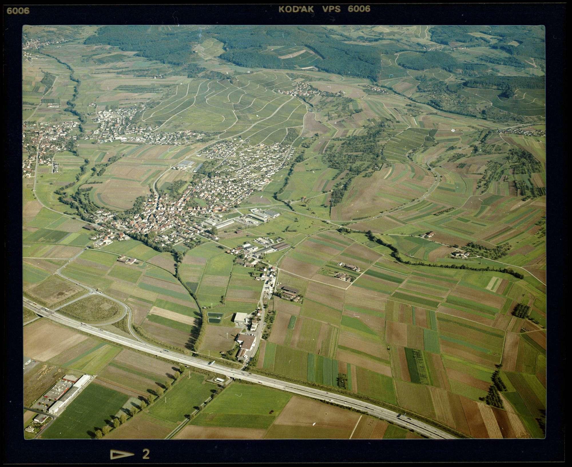 Auenstein, Luftbild, Bild 1
