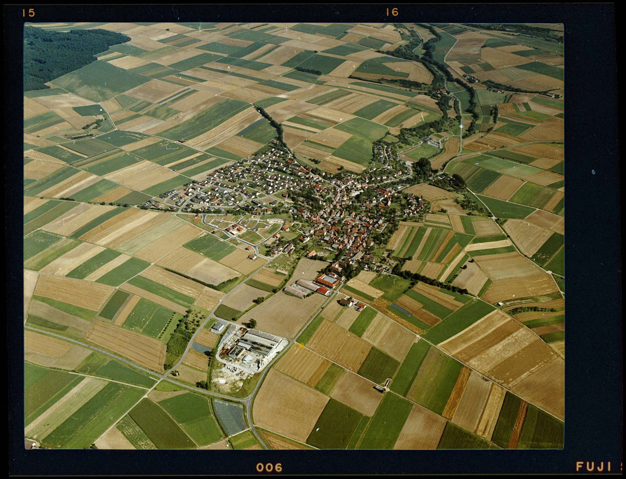 Massenbach, Luftbild, Bild 1