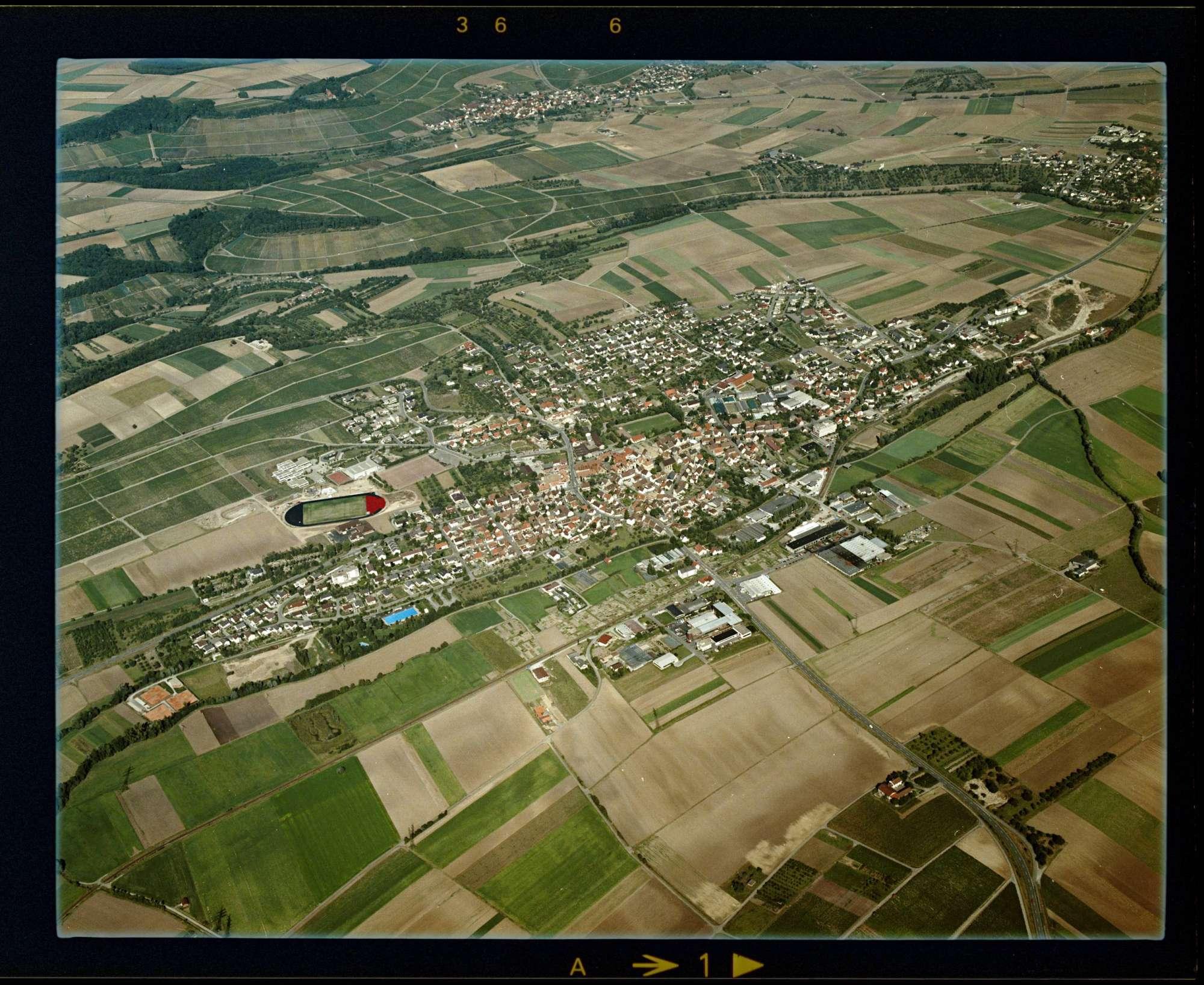 Güglingen, Luftbild, Bild 1