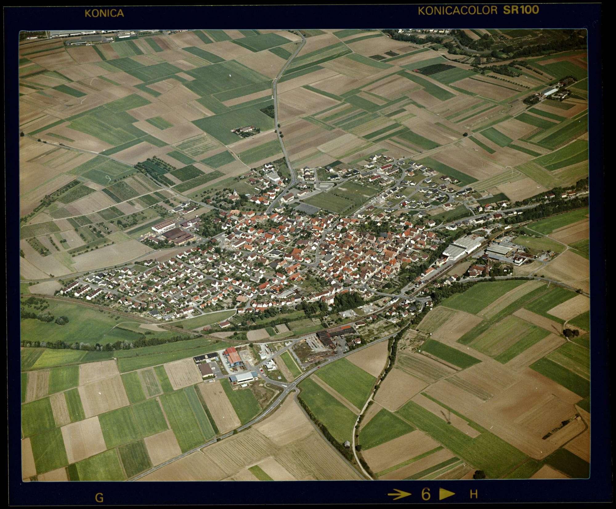 Meimsheim, Luftbild, Bild 1