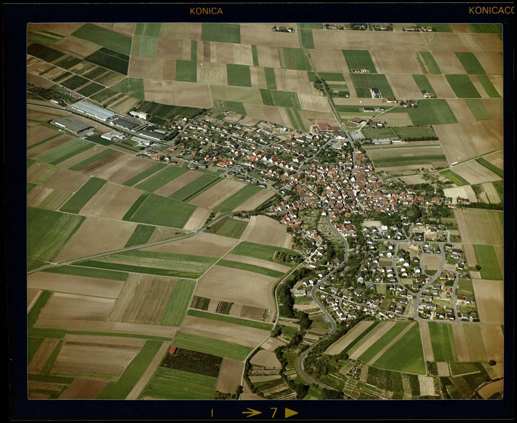 Hausen an der Zaber, Luftbild, Bild 1
