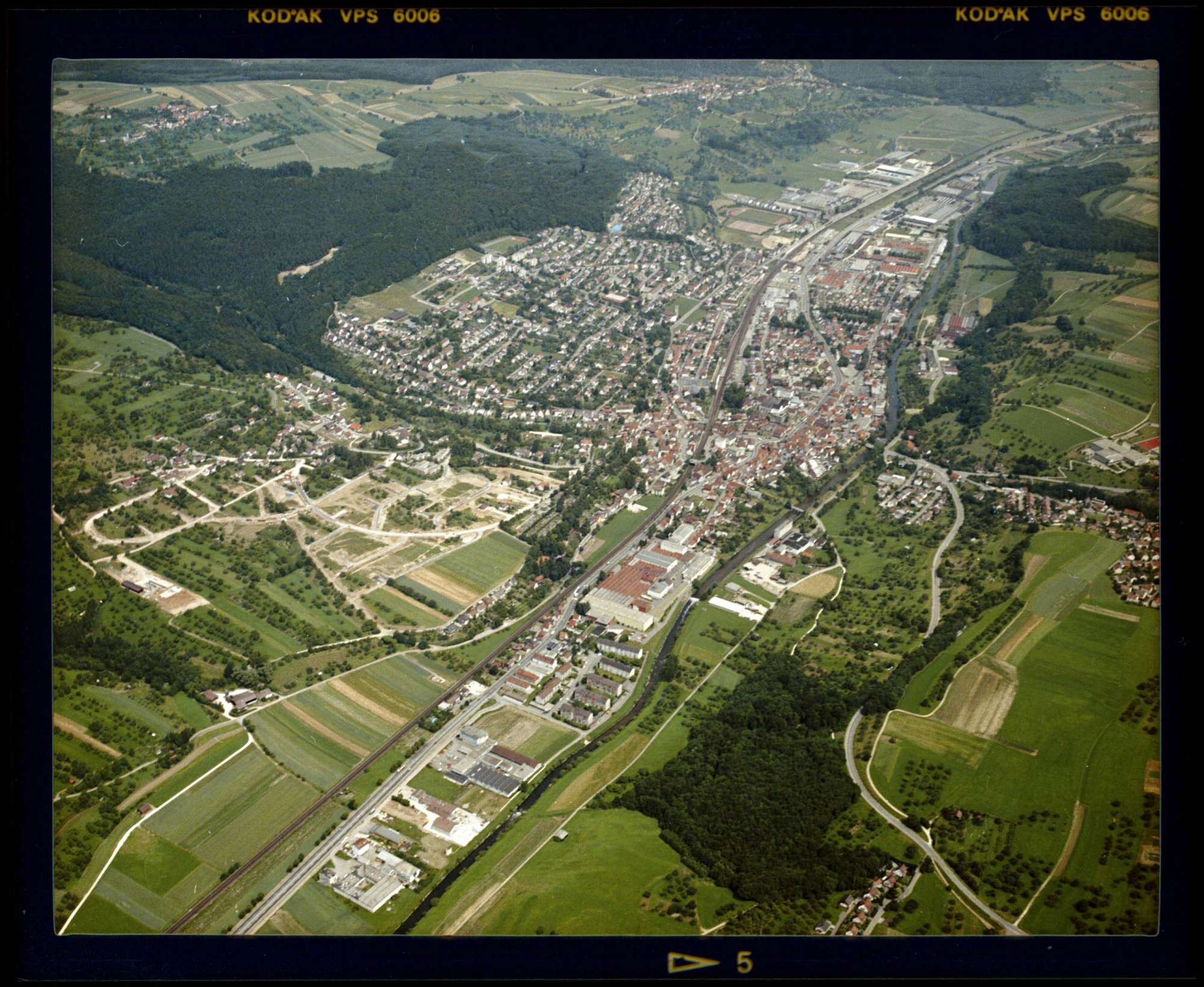 Ebersbach an der Fils, Luftbild, Bild 1