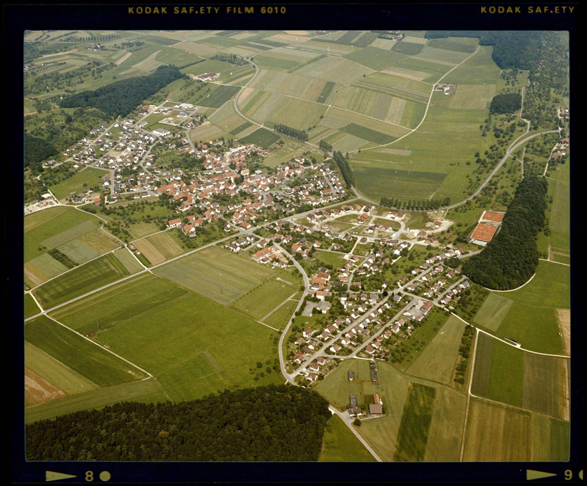 Roßwälden, Luftbild, Bild 1