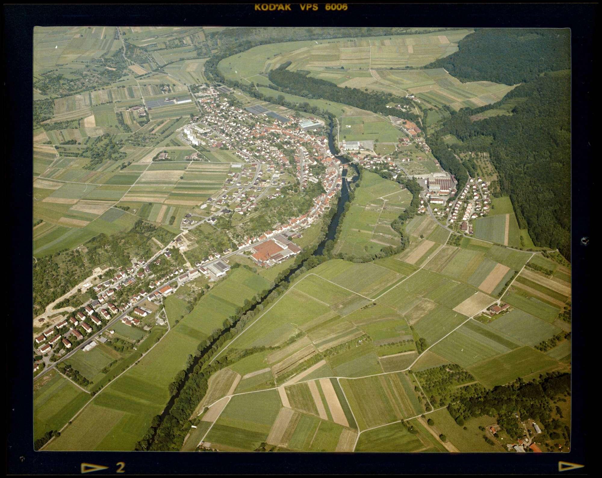 Lomersheim, Luftbild, Bild 1