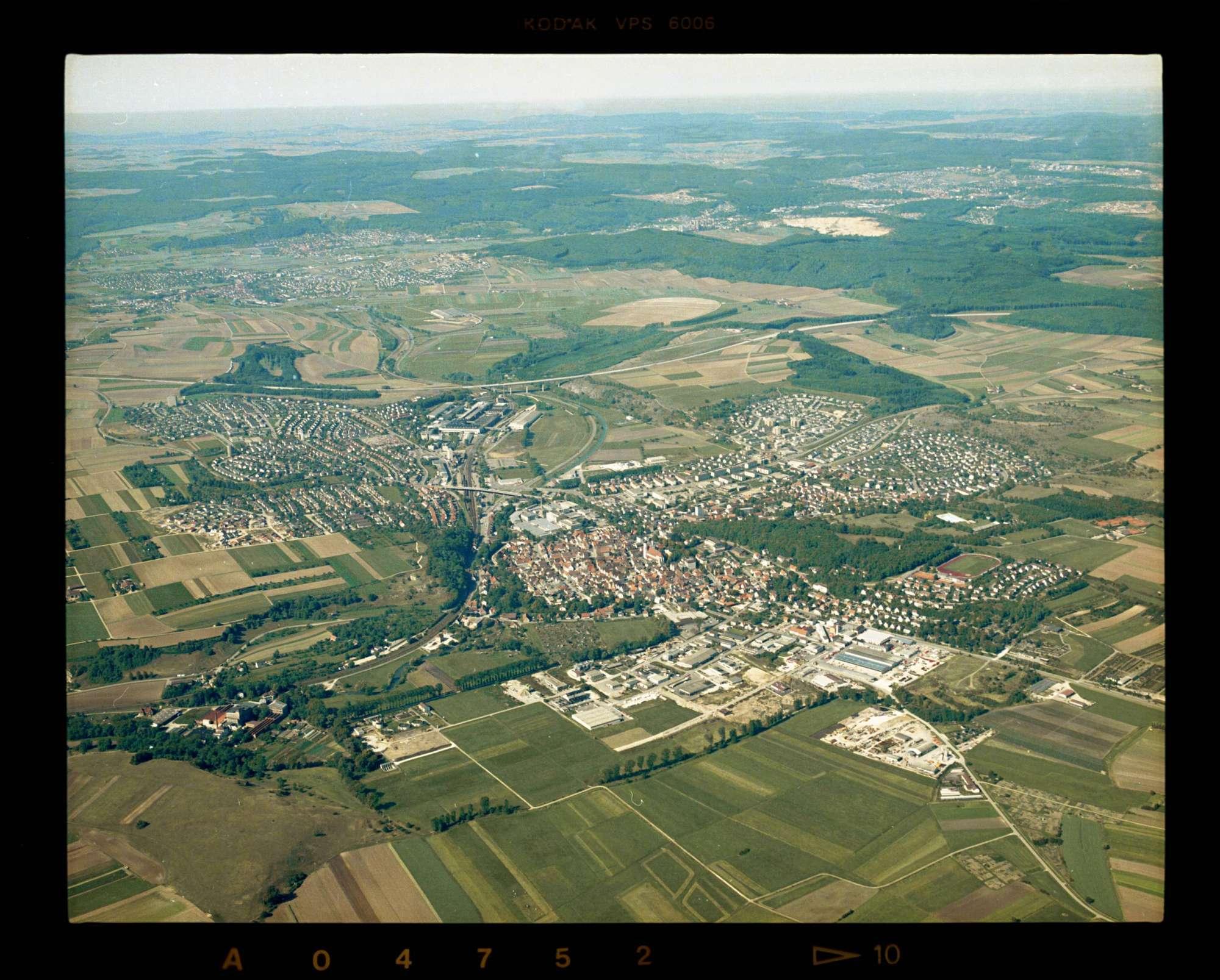 Giengen an der Brenz, Luftbild, Bild 1
