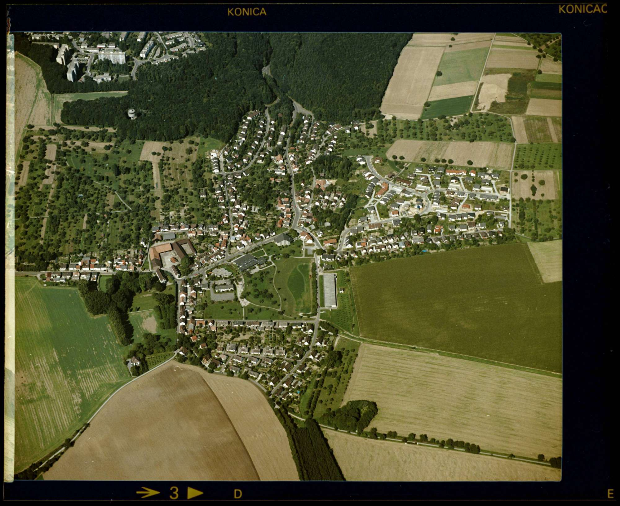 Hohenwettersbach, Luftbild, Bild 1