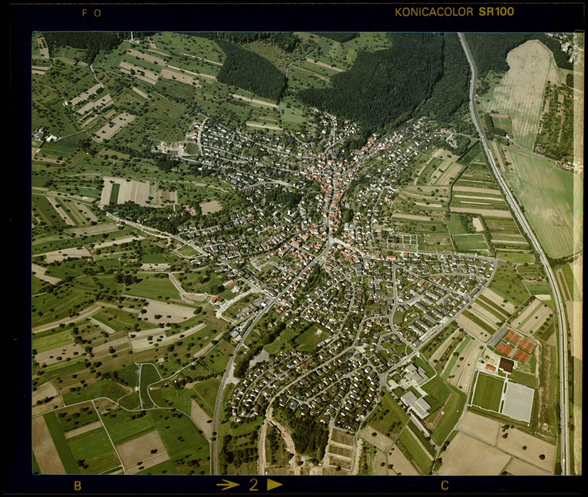 Grünwettersbach, Luftbild, Bild 1
