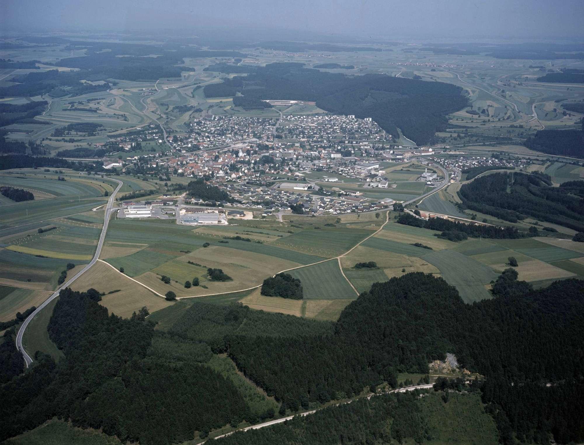 Gammertingen, Luftbild, Bild 1