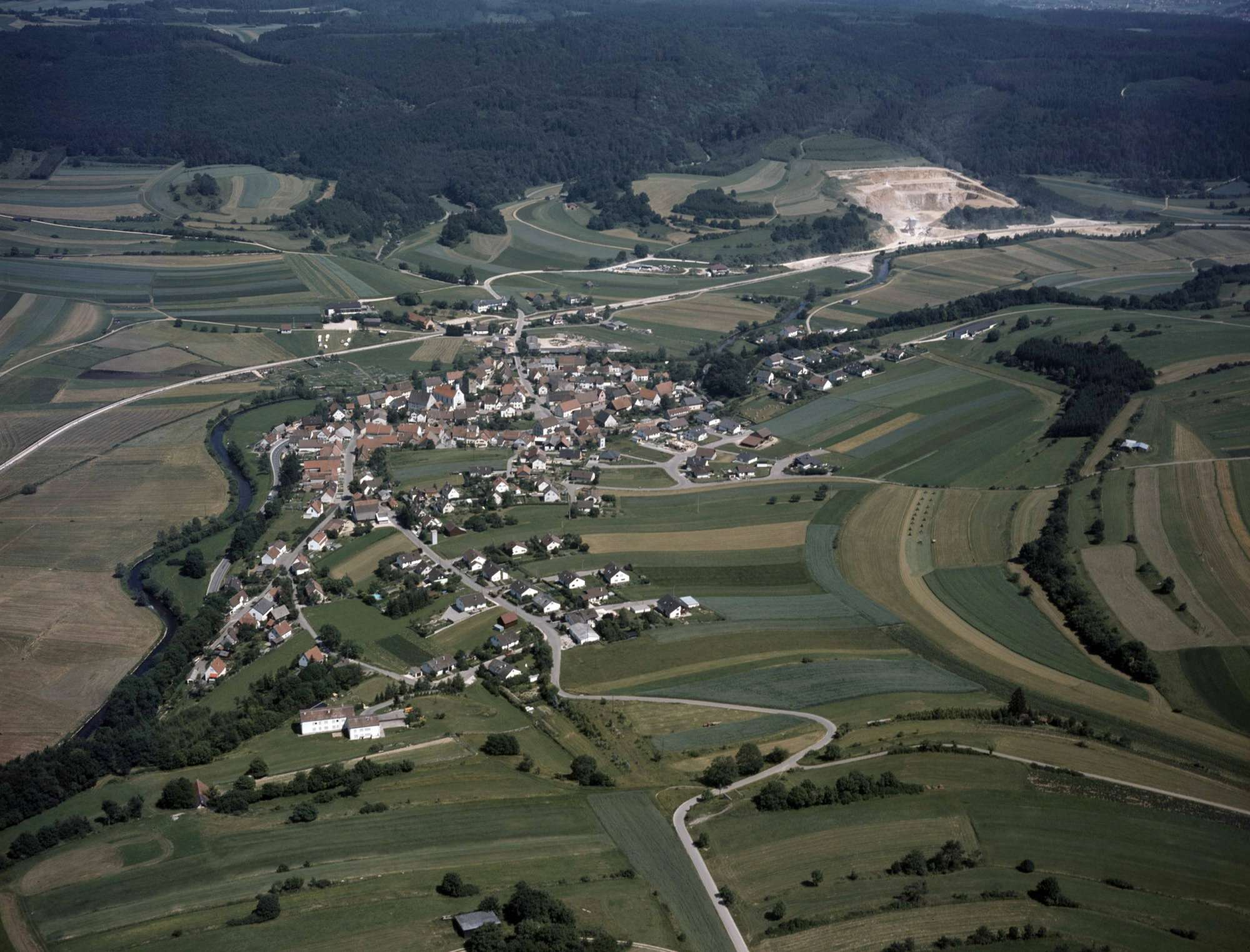 Jungnau, Luftbild, Bild 1