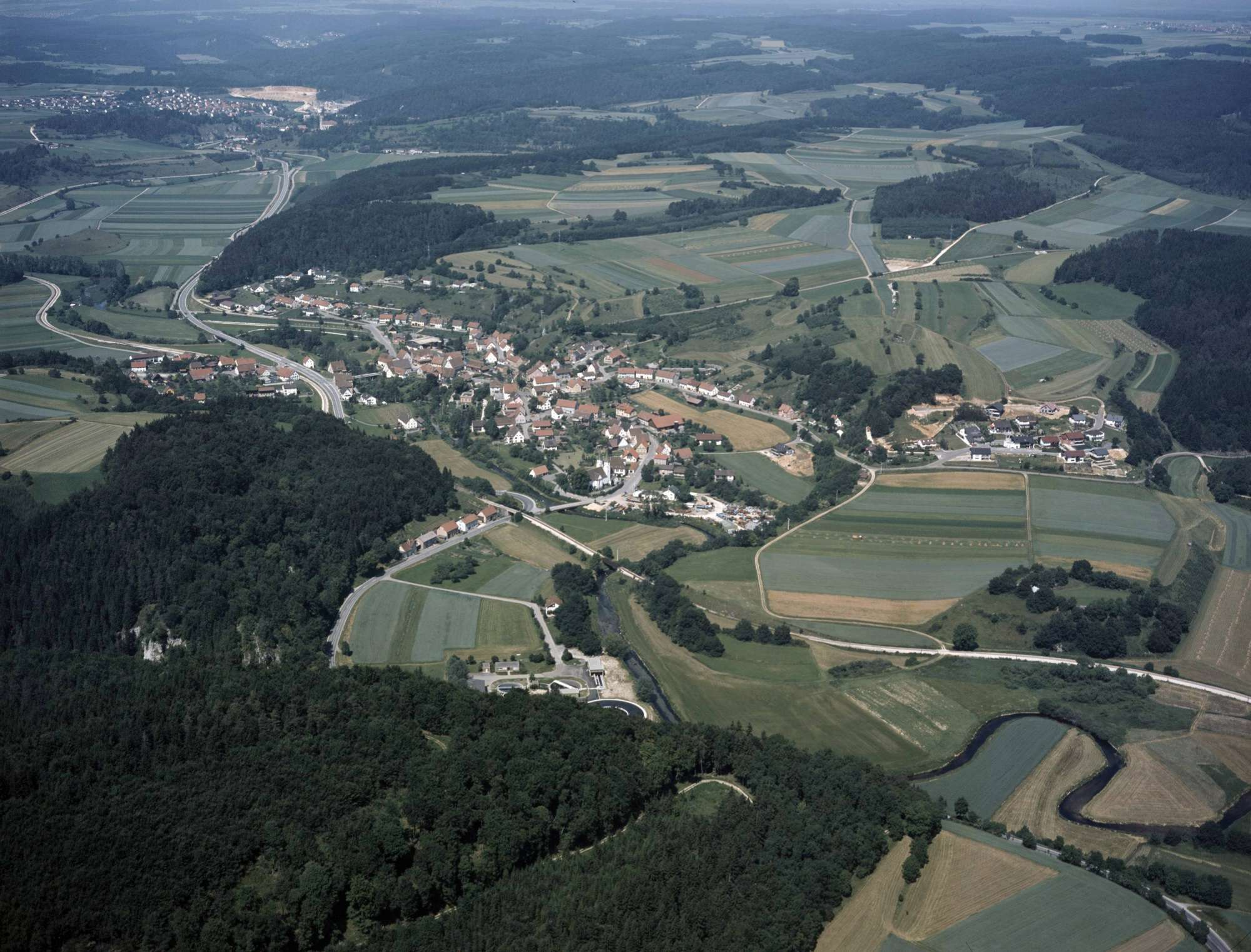 Veringendorf, Luftbild, Bild 1