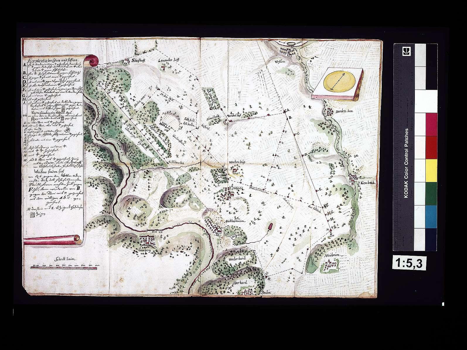 Markungsstreitigkeiten zwischen Höhefeld und dem Kloster Bronnbach, Bild 1