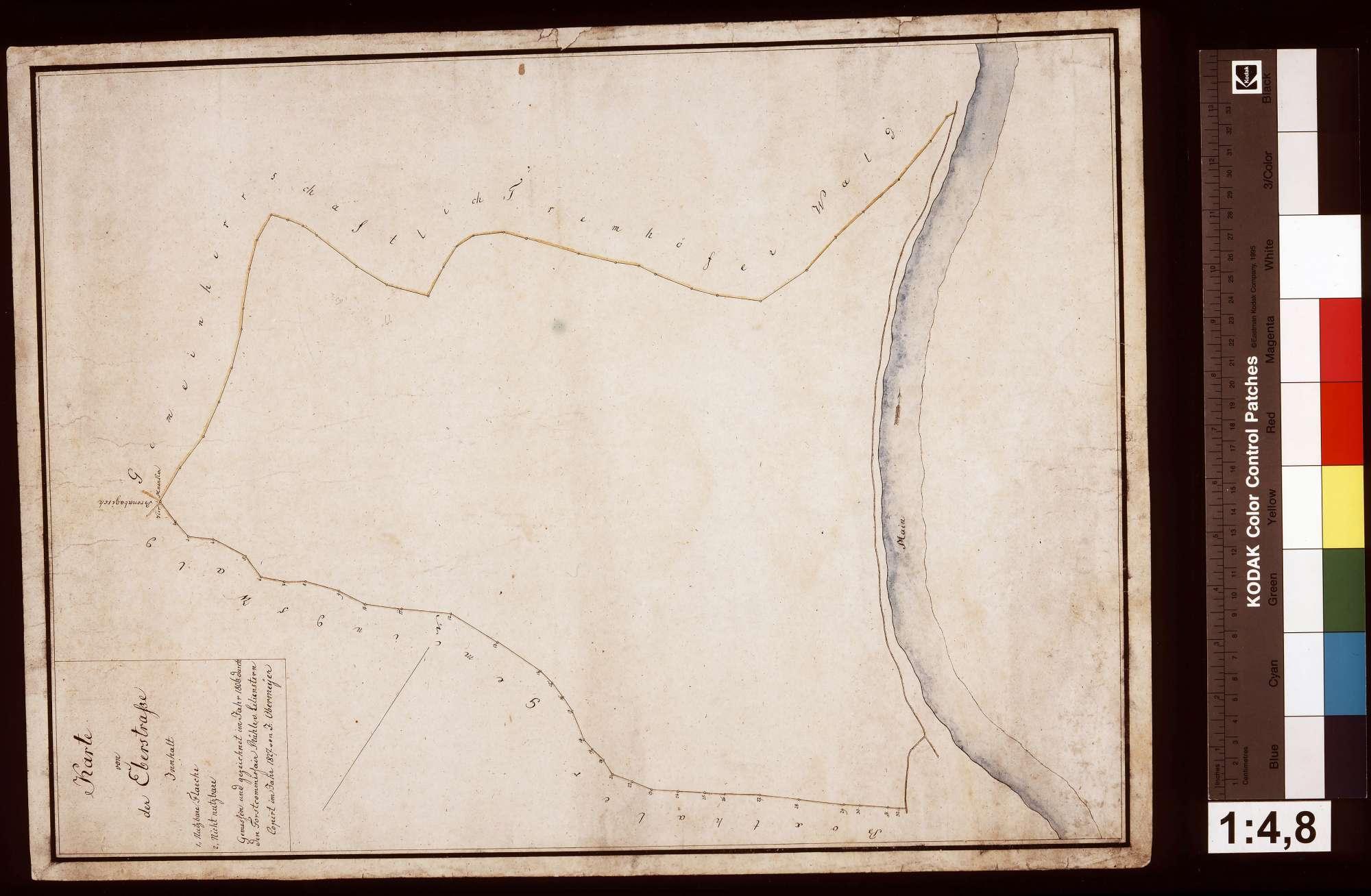 Karte von der Eberstraße, Bild 1