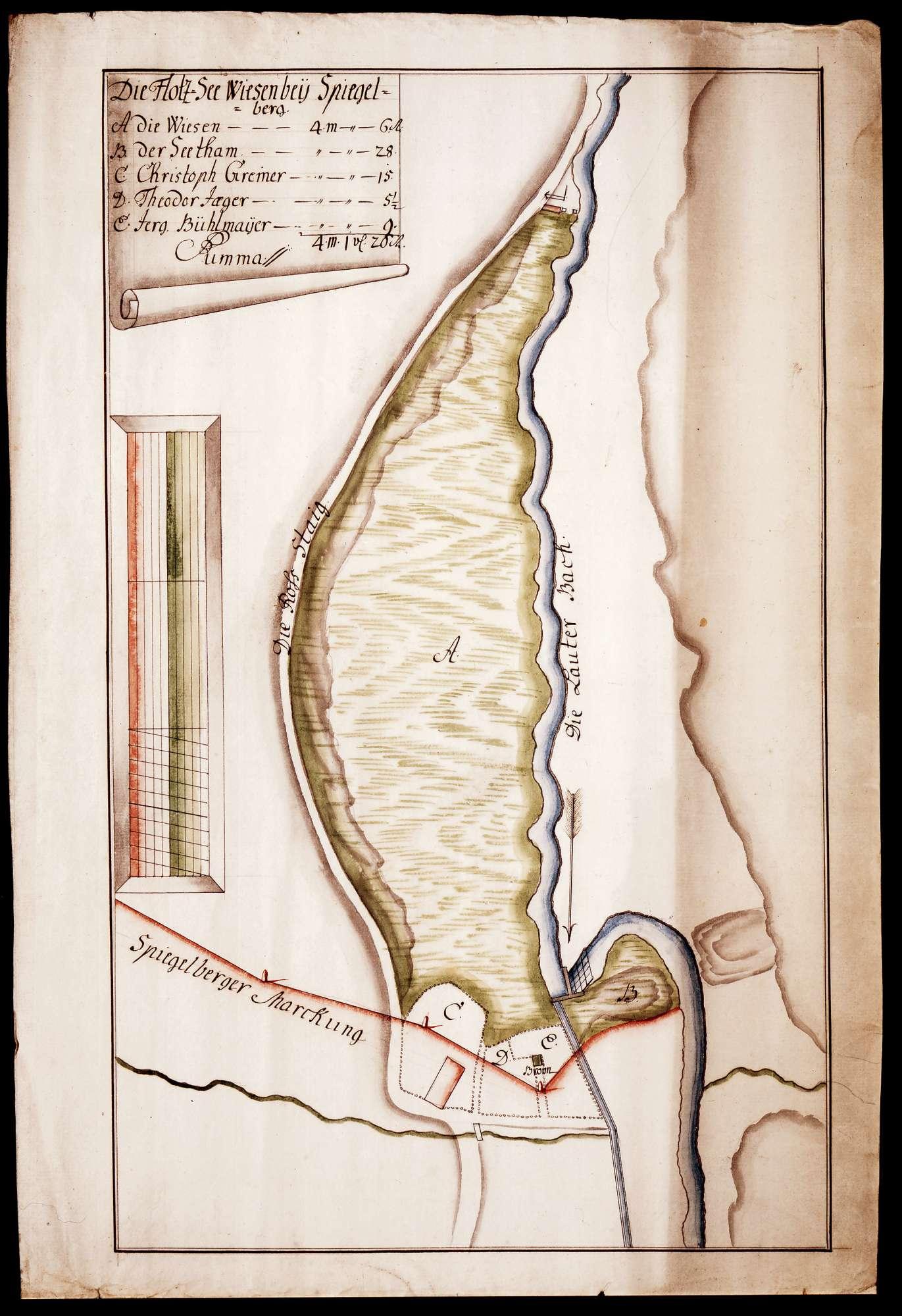 Holzseewiesen bei Spiegelberg, Bild 1