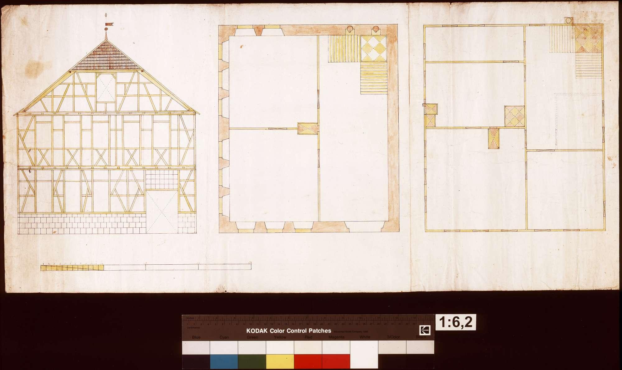 Fachwerkgebäude in Löwenstein (?), Bild 1