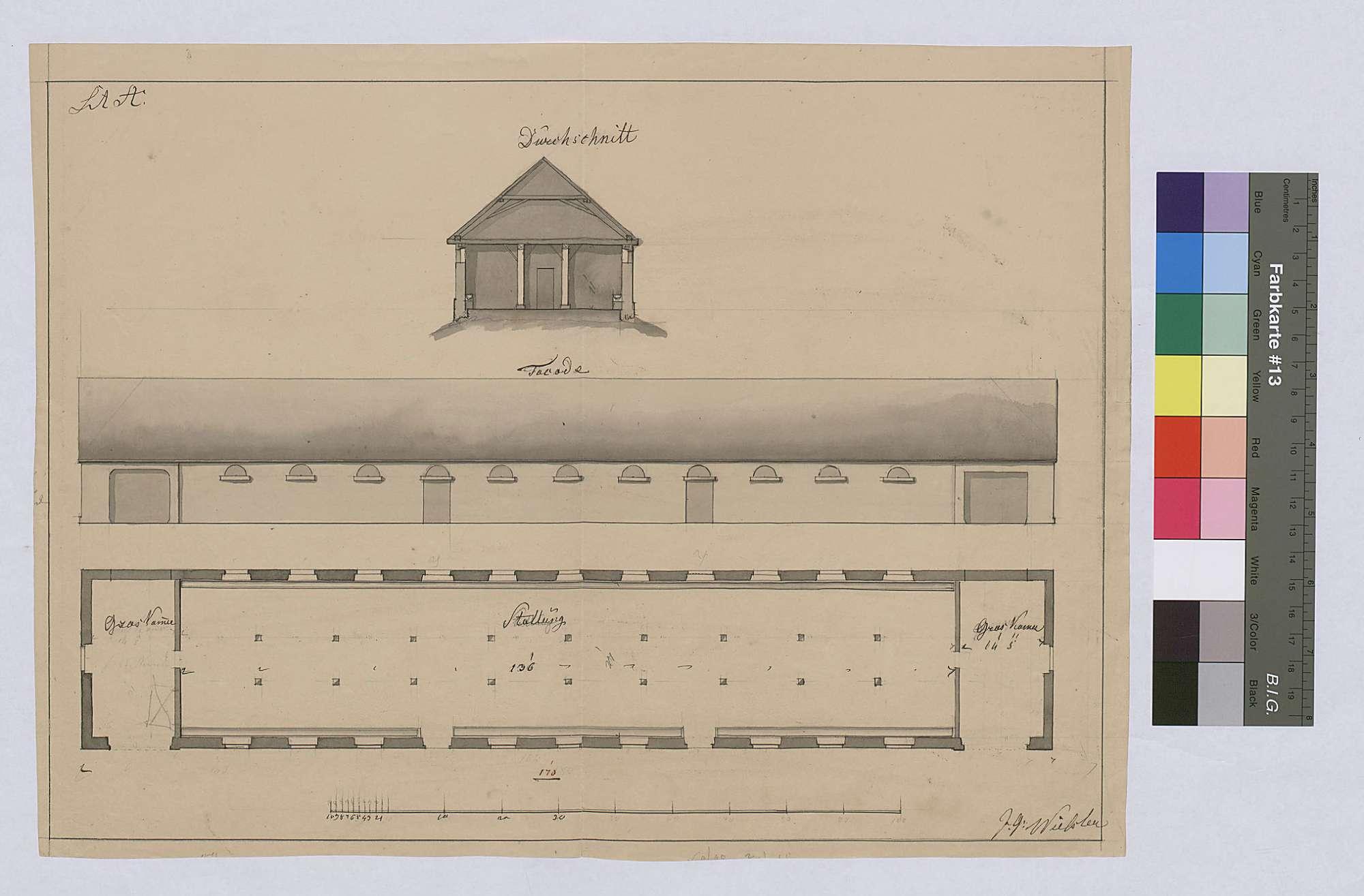 Hofgut Breitenau: Neubau eines Stalles, Bild 1