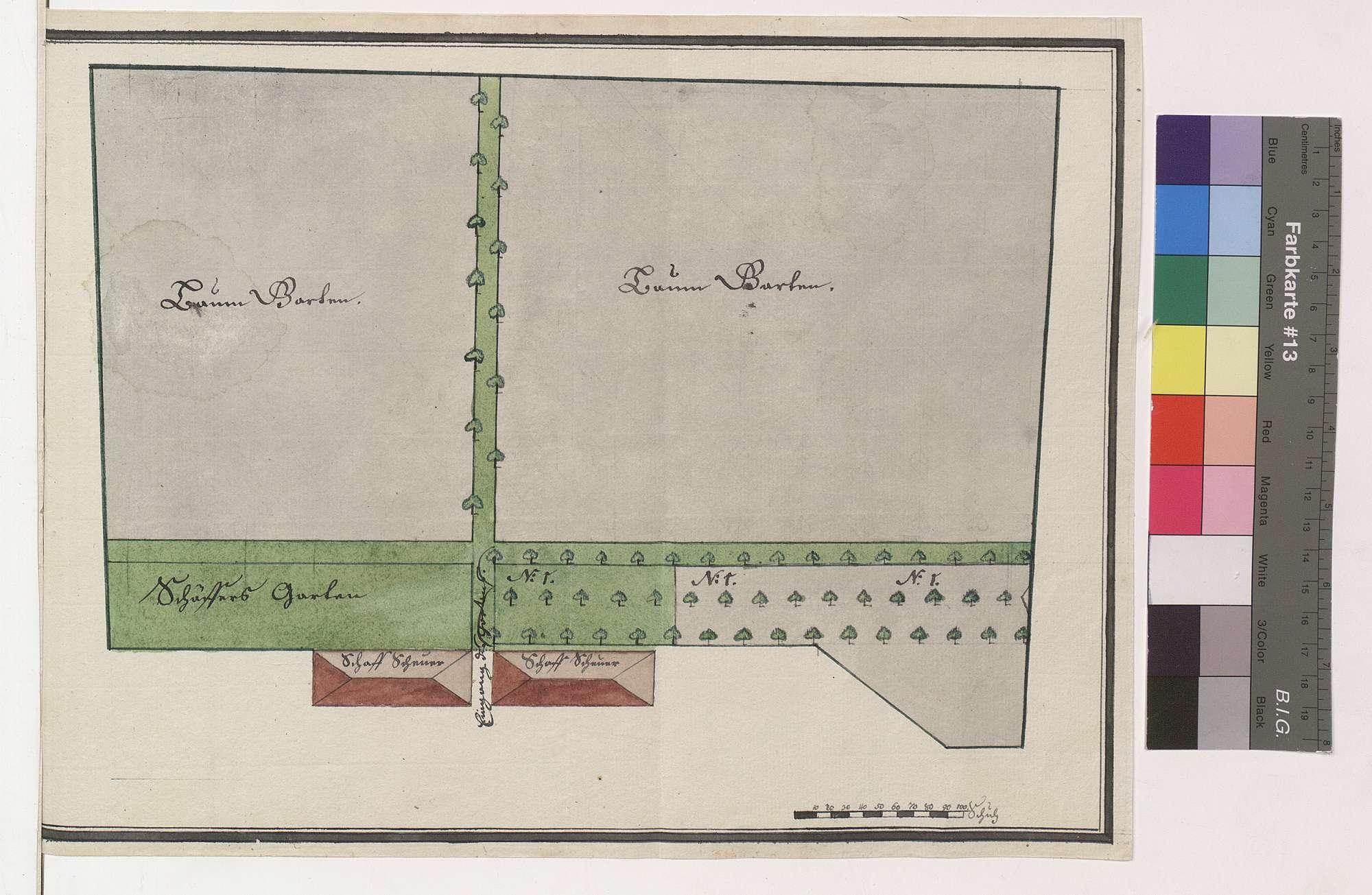 Anlegen eines neuen Baumgartens auf dem Neuhof (Vockenrot), Bild 1