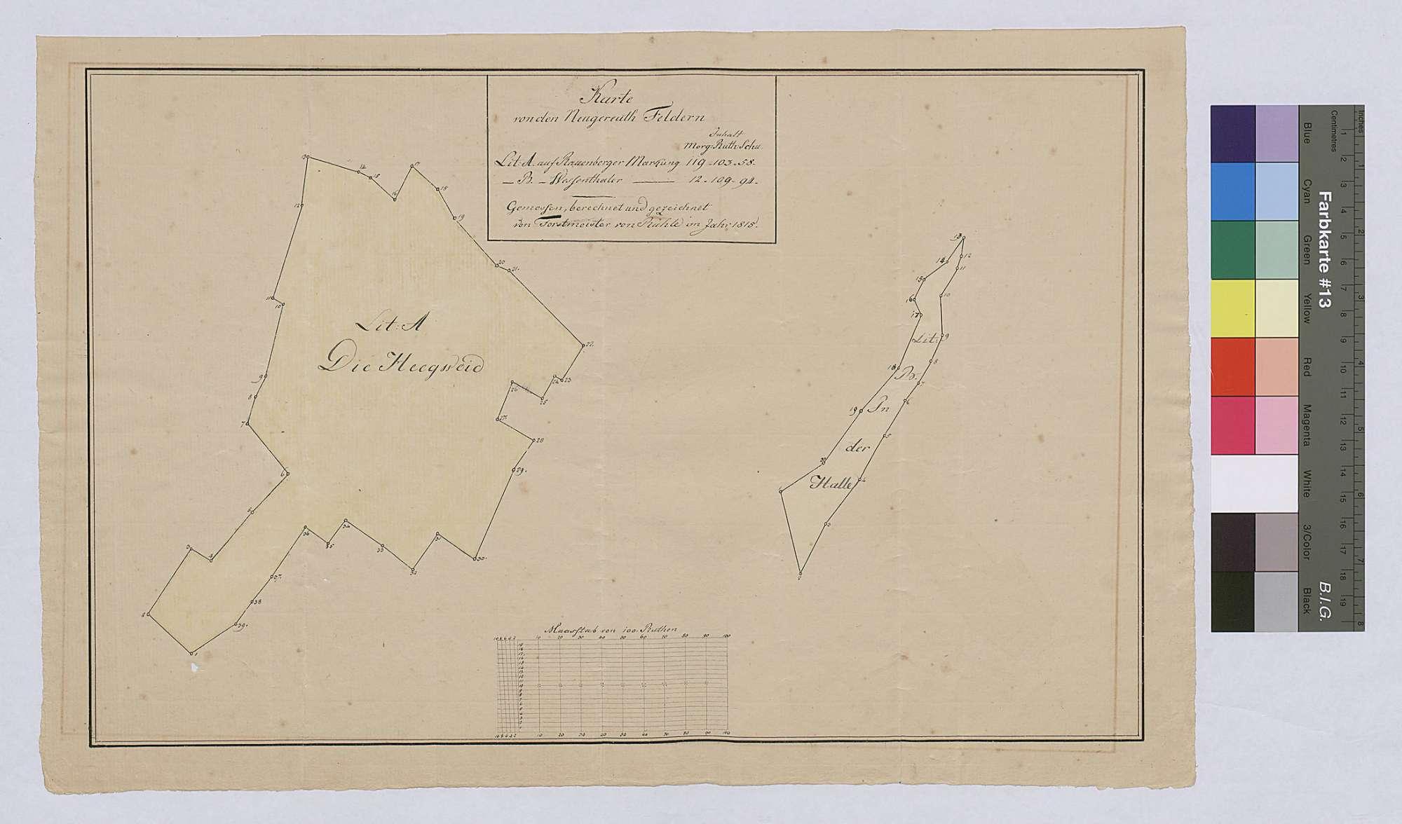 Gemarkung Rauenberg und Wessental: Neugereutfelder, Bild 1
