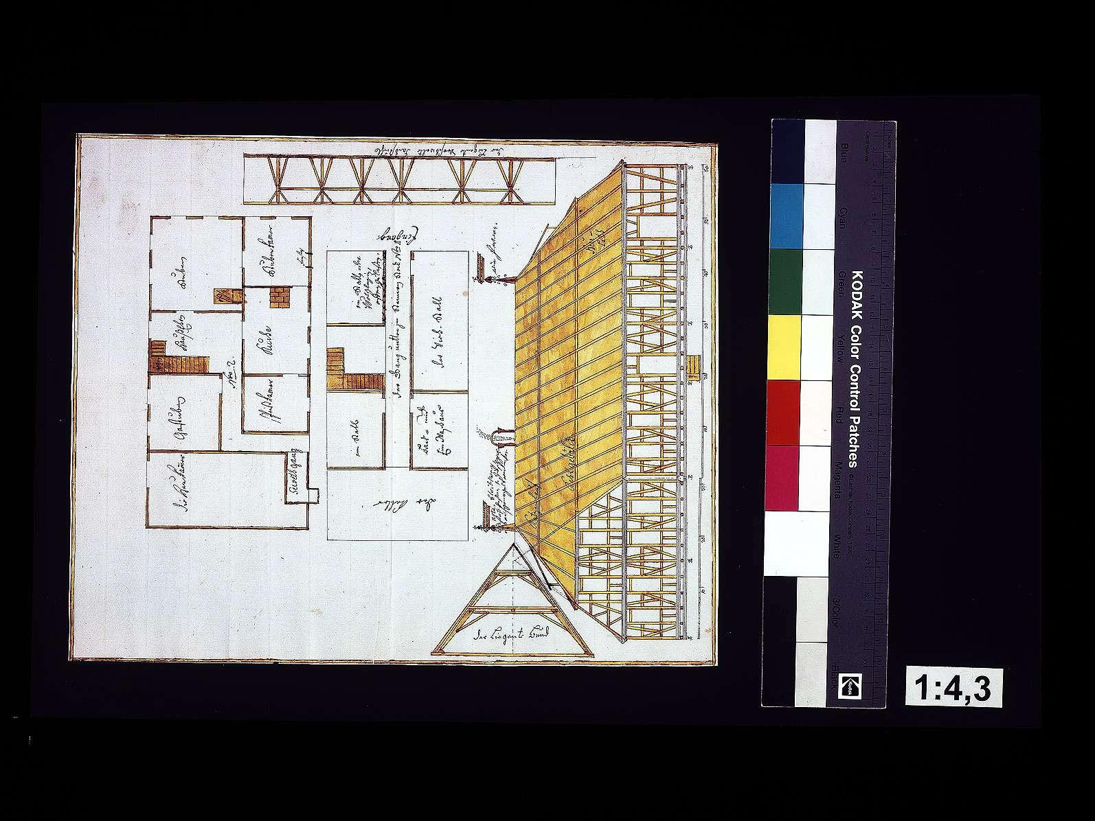 Baufälligkeit des Jägerhauses zu Löwenstein, dessen Abriss und neue Erbauung, Bild 1