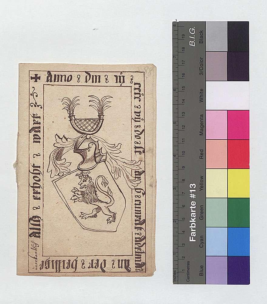 Wappen und Grabsteine der Freiherren von Adelmann in der Kirche zu Adelmannsfelden, 1