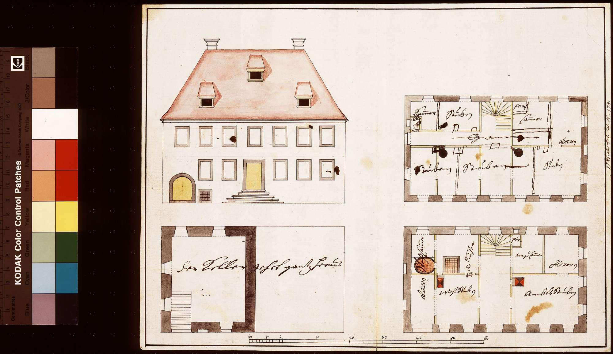 [Altes Amtshaus zu Abstatt], Bild 1