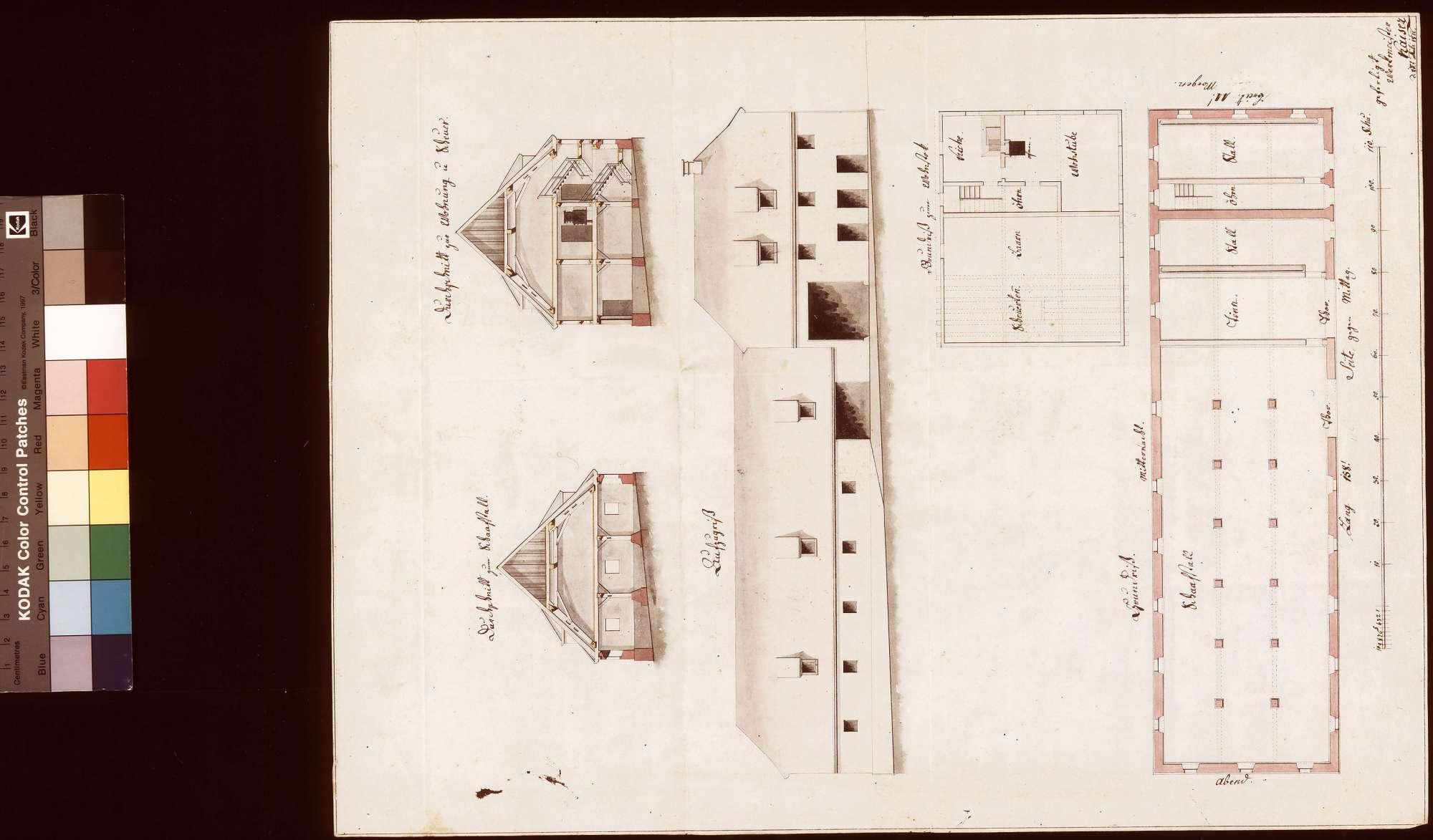 [Neubau eines Schafhauses samt Scheuer und Wohnung in Widdern], Bild 1