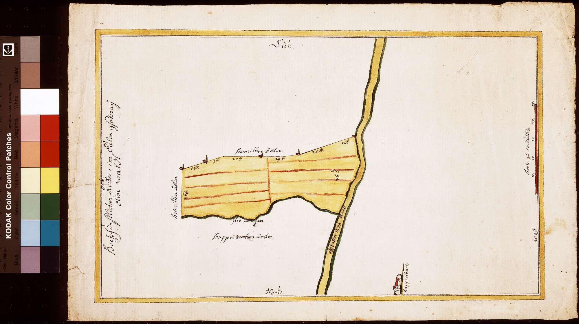 Acker im Eulengeschrei, einst Wald (Inselkarte), Bild 1