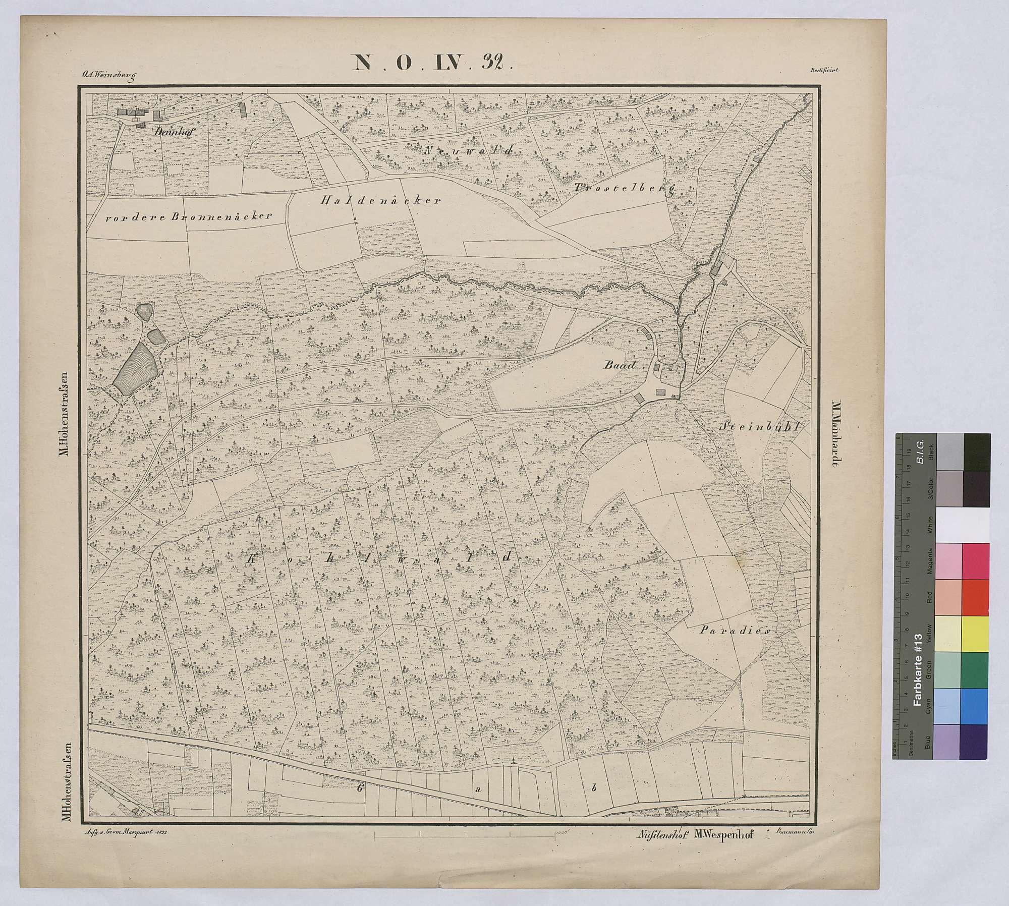Topographische Karte, Bild 1