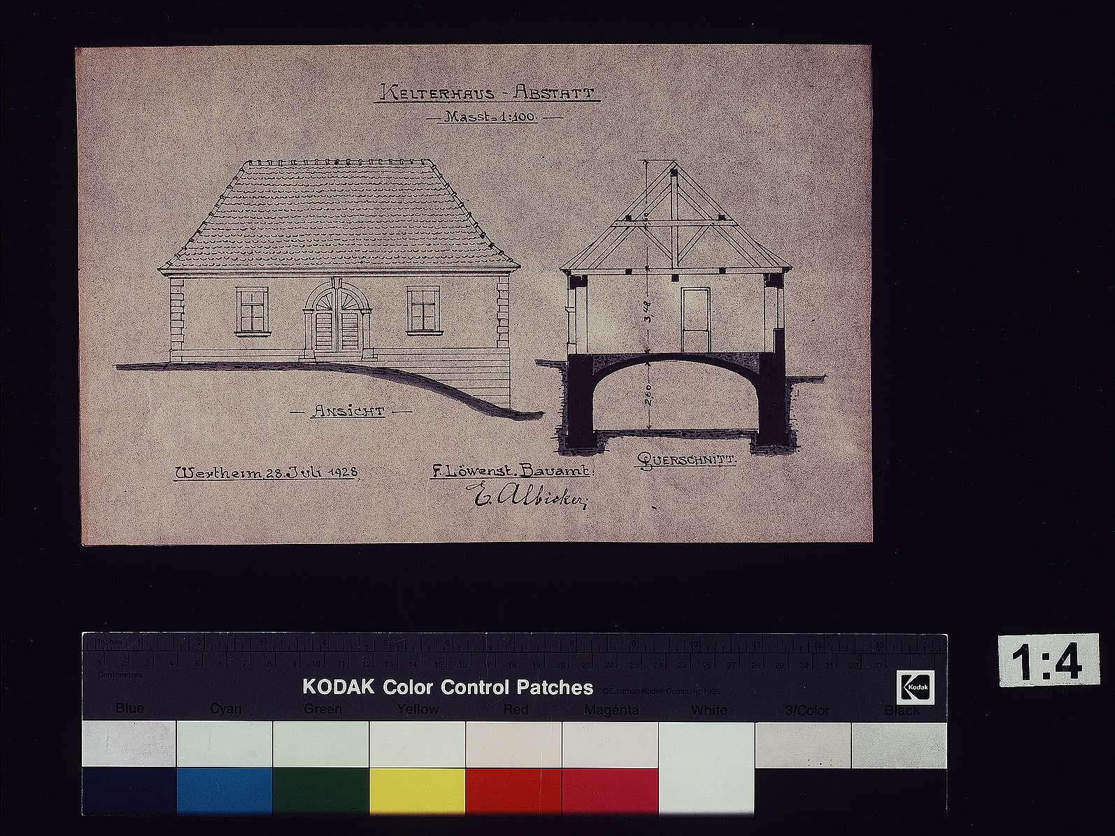 Kelterhaus Abstatt, Bild 1