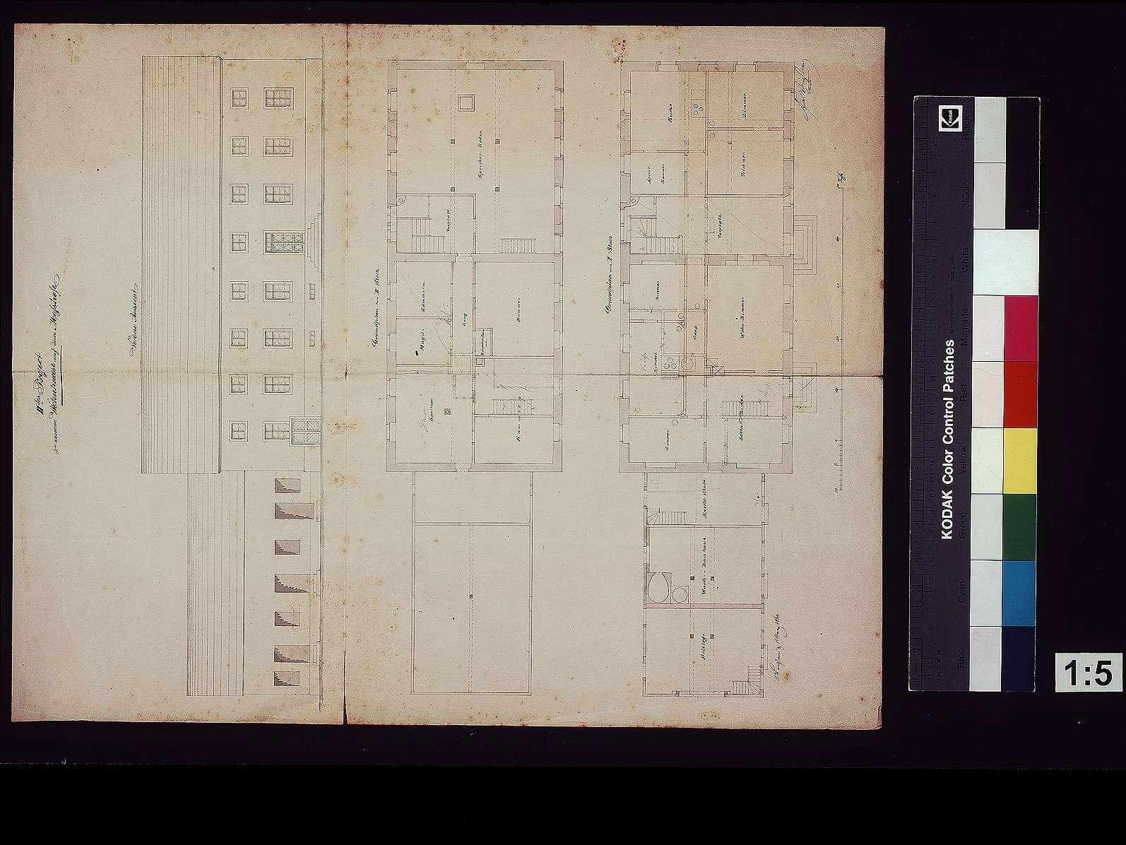 [Hinterer] Meßhof: Projekt zu einem Wohnhaus, Bild 1