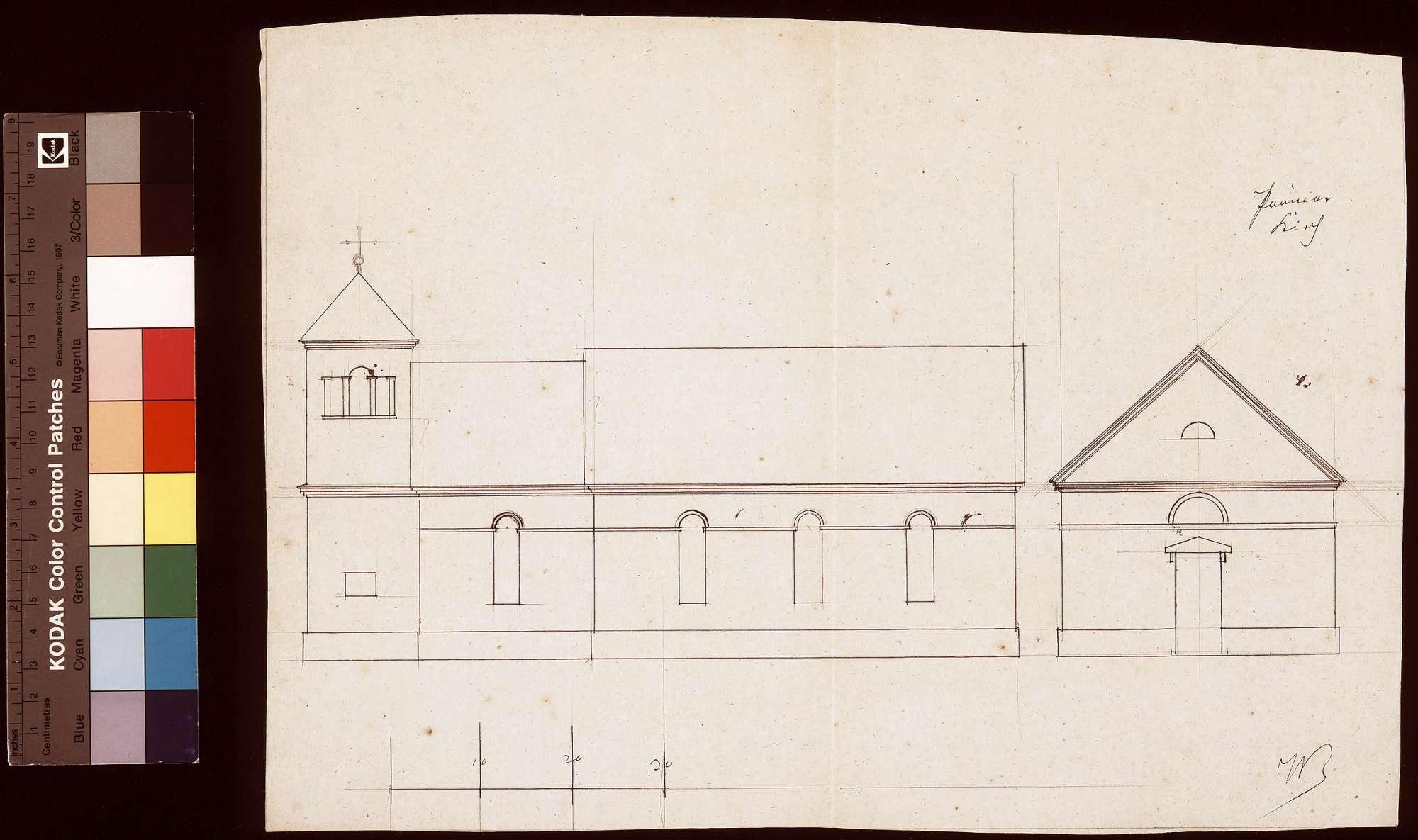 Entwurf für die Paimaer Kirche St. Laurentius, Bild 1