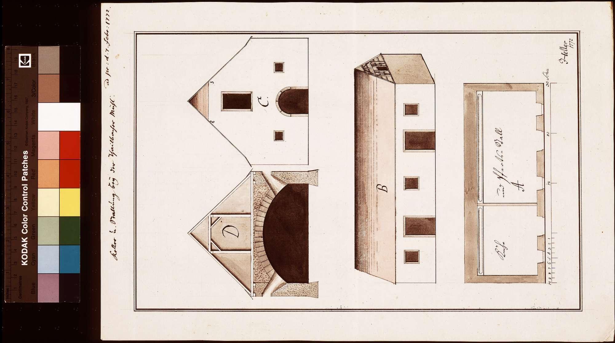 Thailbacher (Teilbacher) Mühle-Keller und Stallung, Bild 1