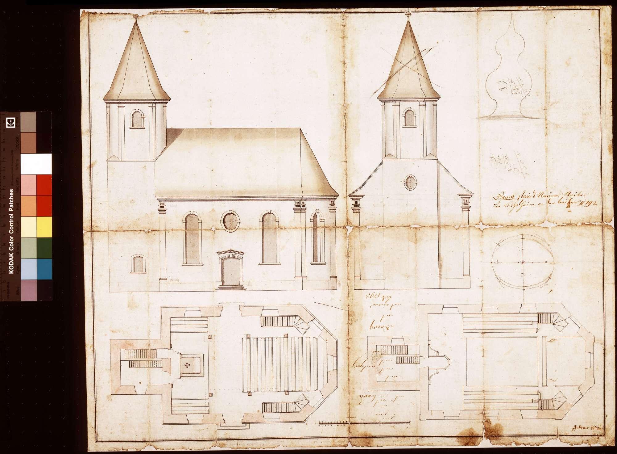 Kirche zu Wenkheim, Bild 1