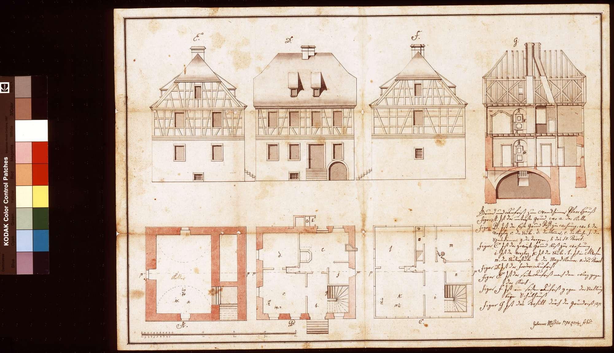 Wenkheimer Pfarrhaus, Bild 1