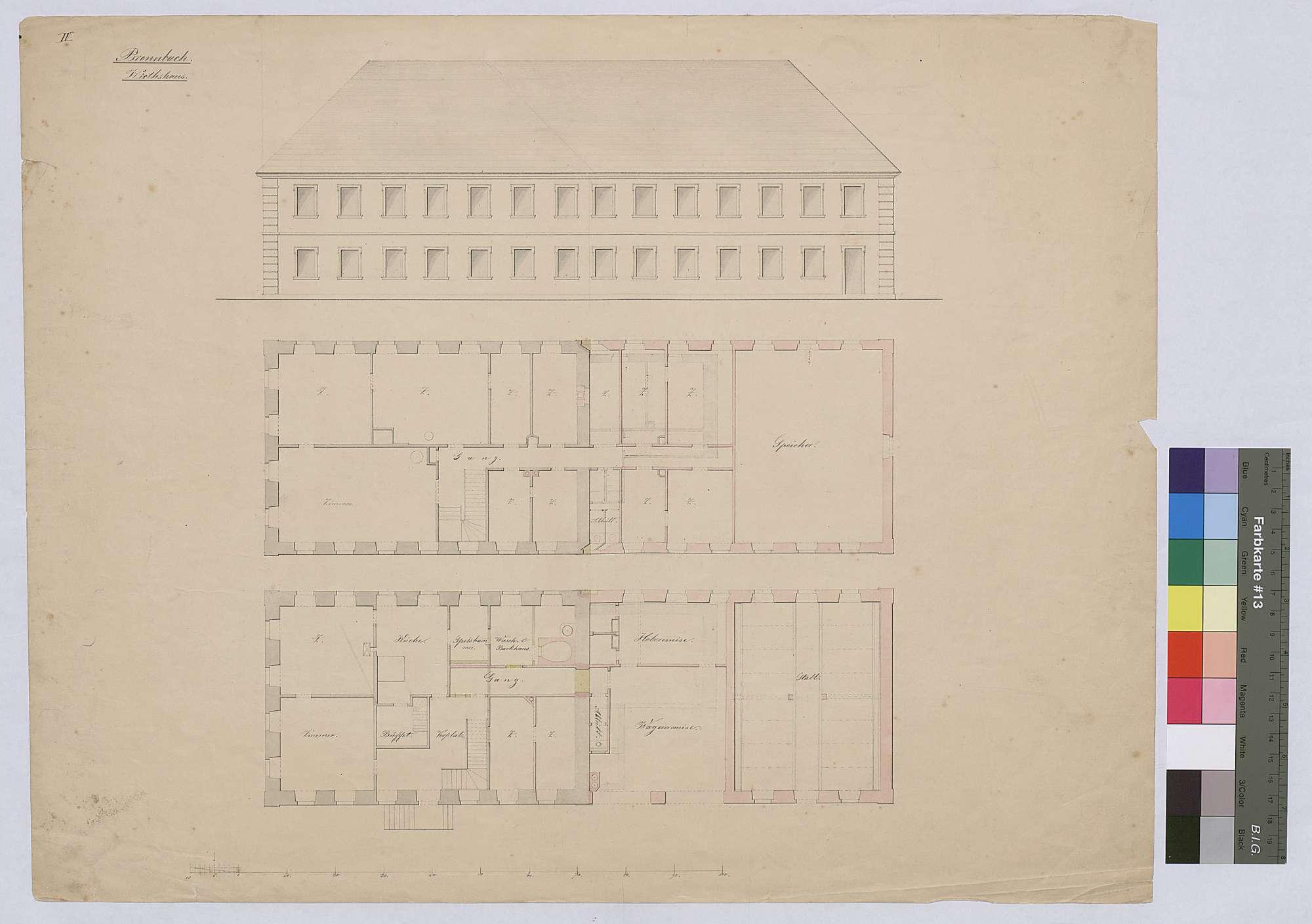 Bronnbach: Wirtshaus, Bild 1