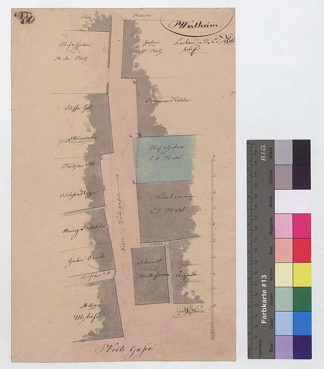 Neubau des [Gerbers] E.F. Held, Bild 1