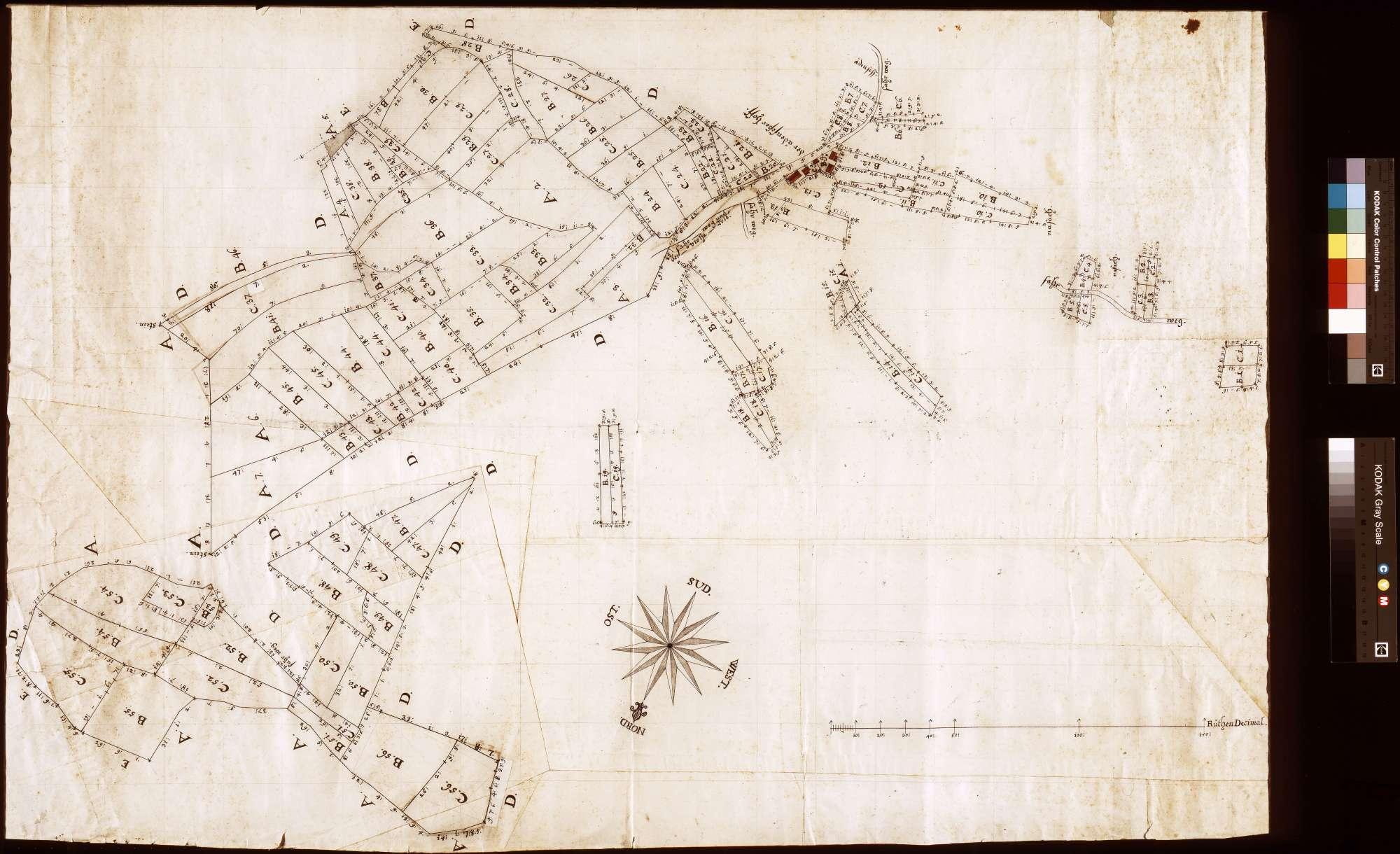 [Gemarkung Ödengesäßer Hof; Teil 1] (Inselkarte), Bild 1