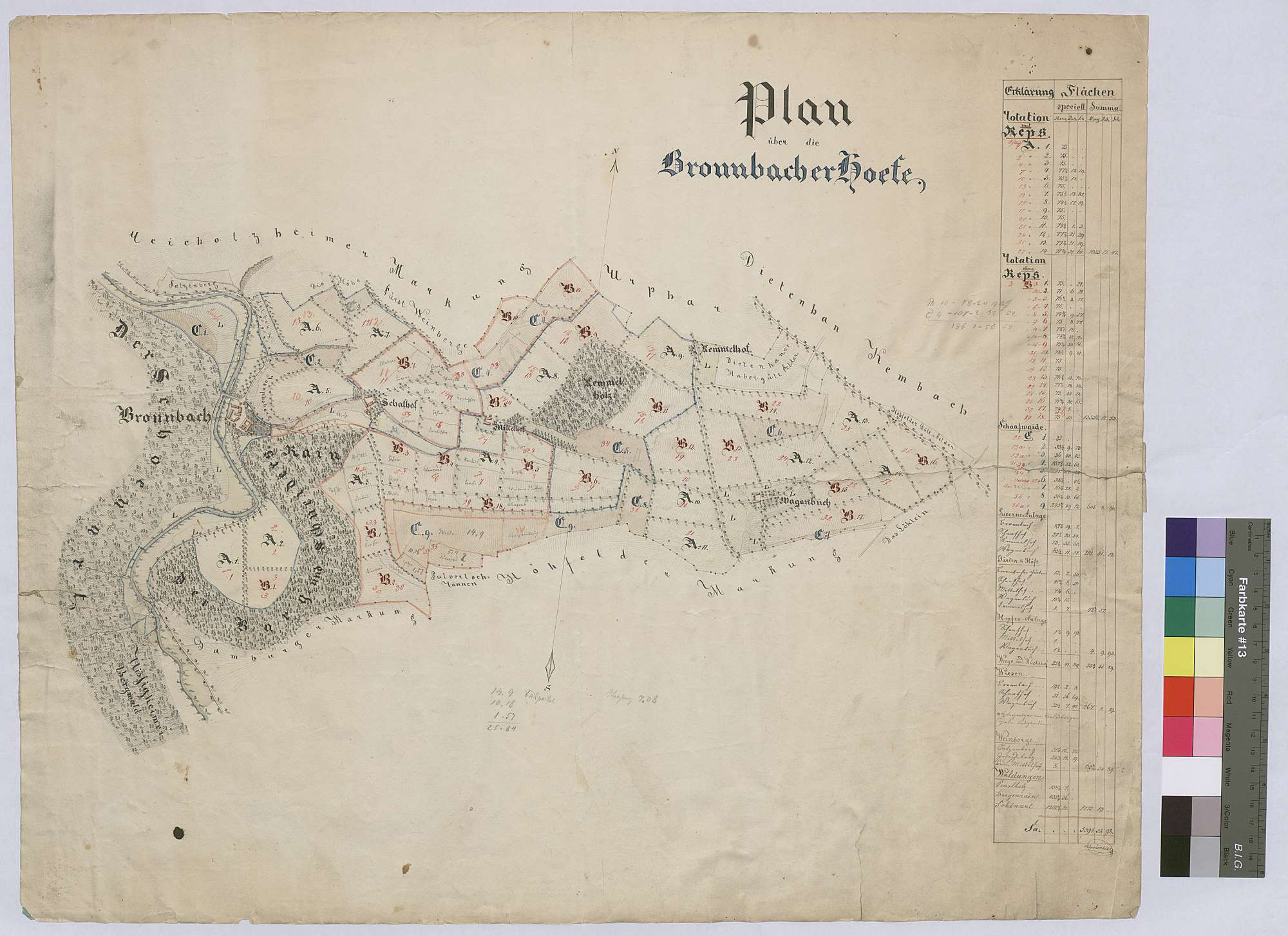 Bronnbacher Höfe (Inselkarte), Bild 1