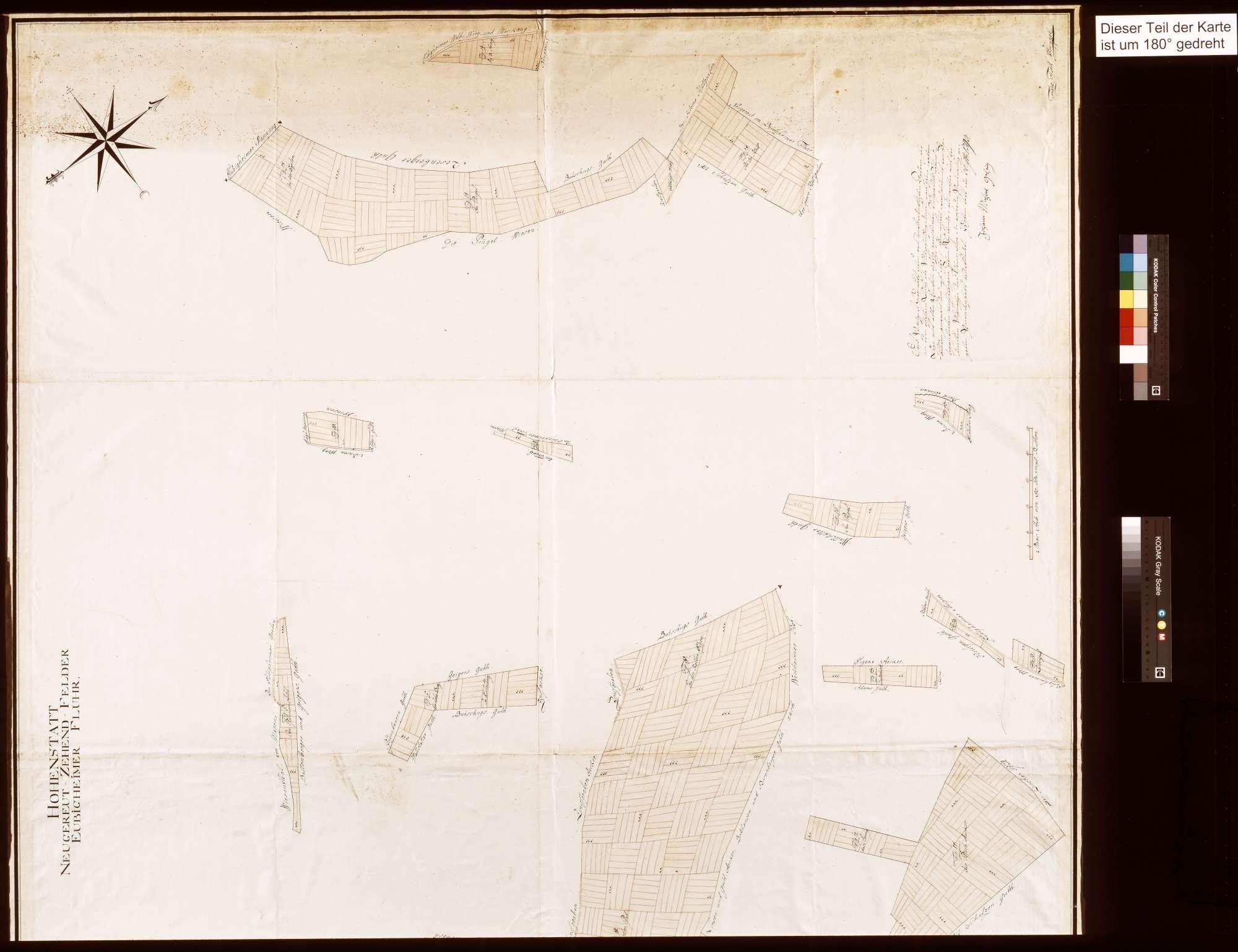 Hohenstadt: Neugereutzehntfelder, Eubigheimer Flur (Inselkarte), Bild 2