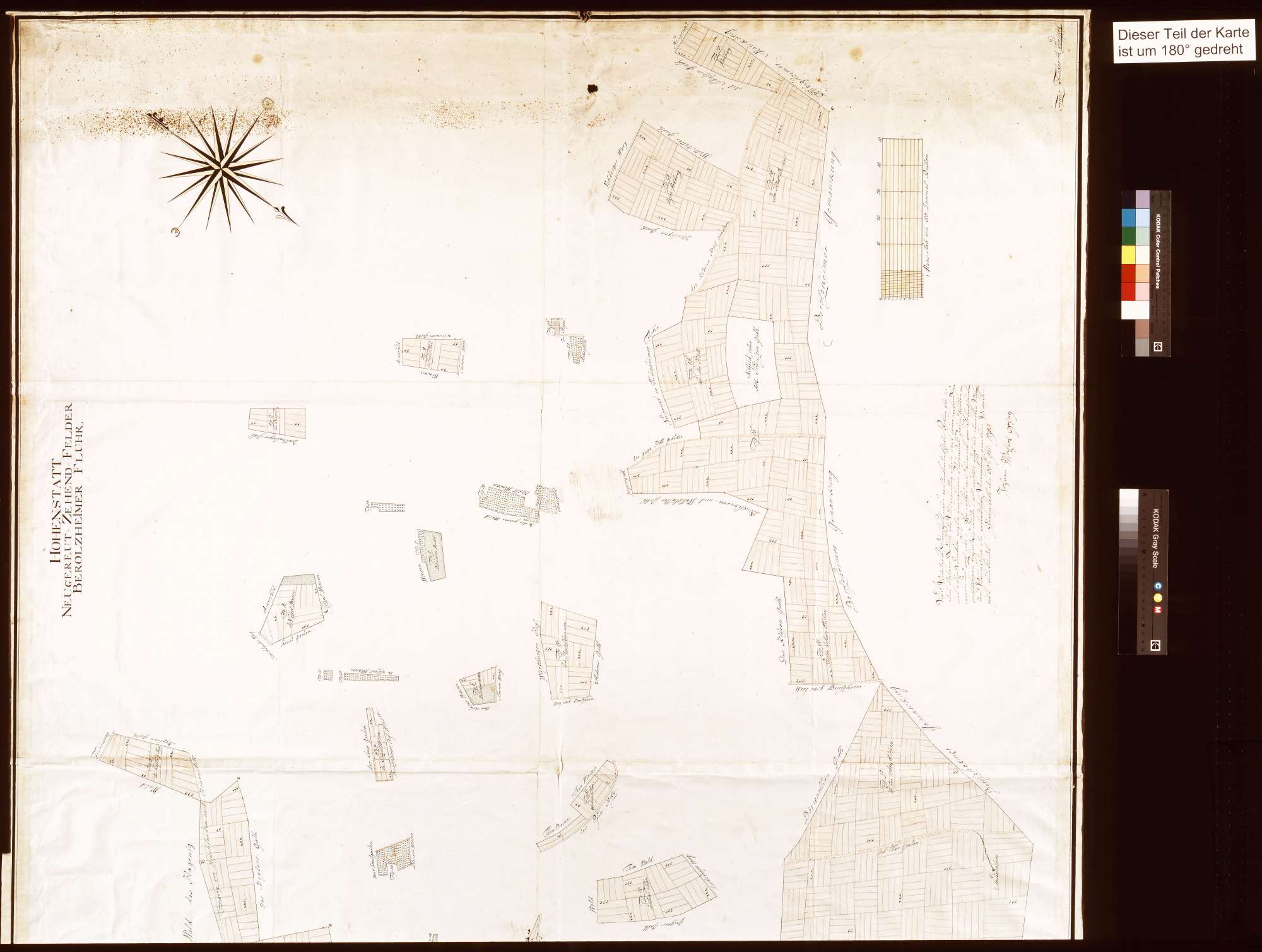 Hohenstadt: Neugereutzehntfelder, Berolzheimer Flur (Inselkarte), Bild 2