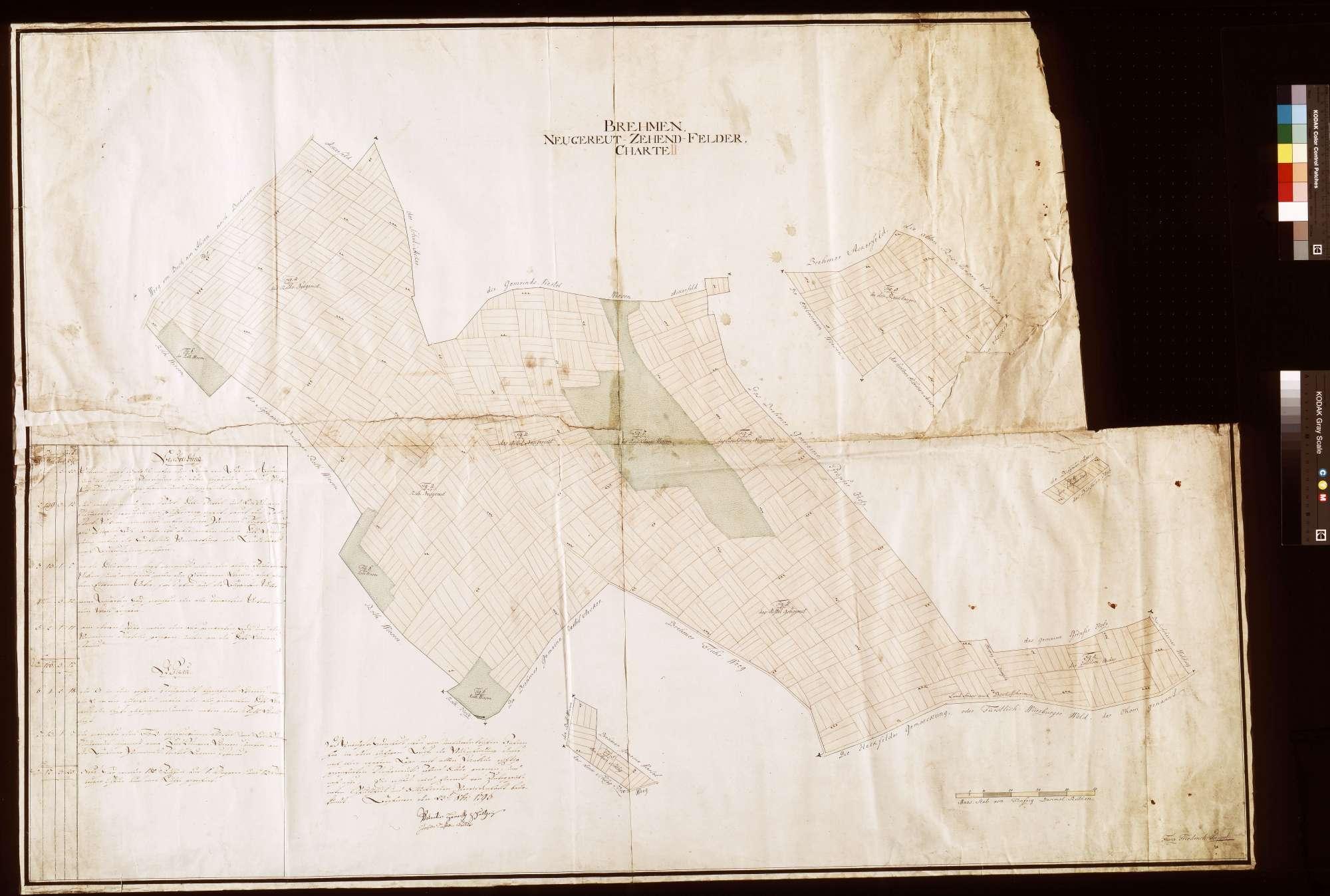 Brehmen: Neugereutzehntfelder (Inselkarte), Bild 1