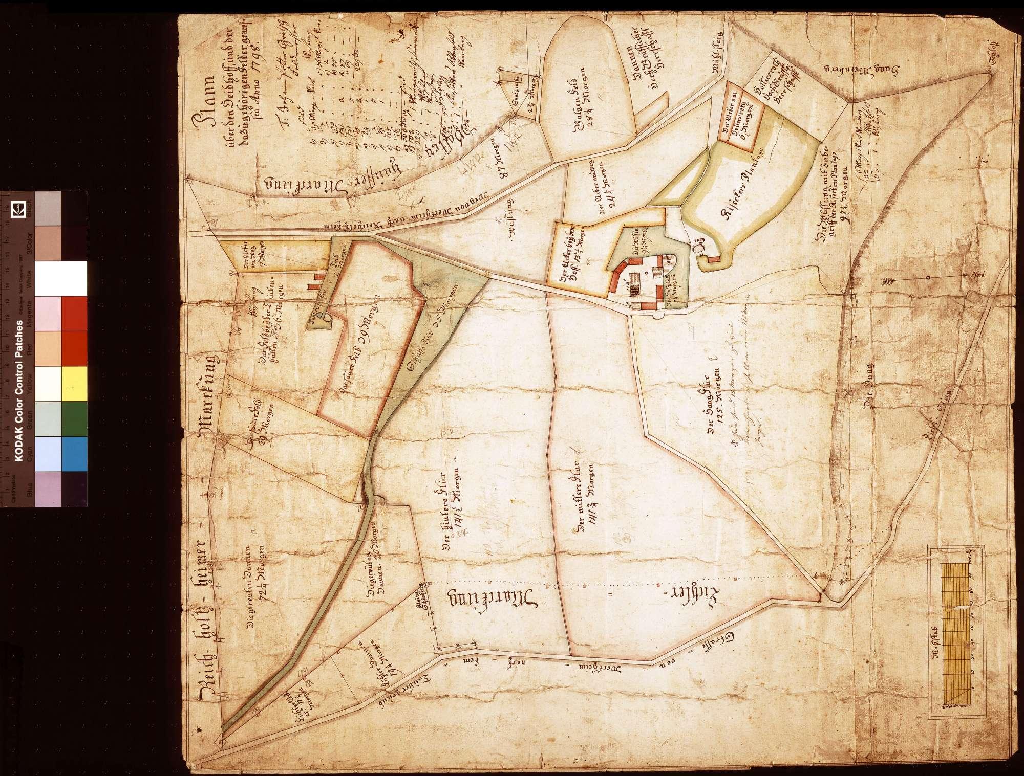 Haidhof und die dazugehörigen Felder (Inselkarte), Bild 1