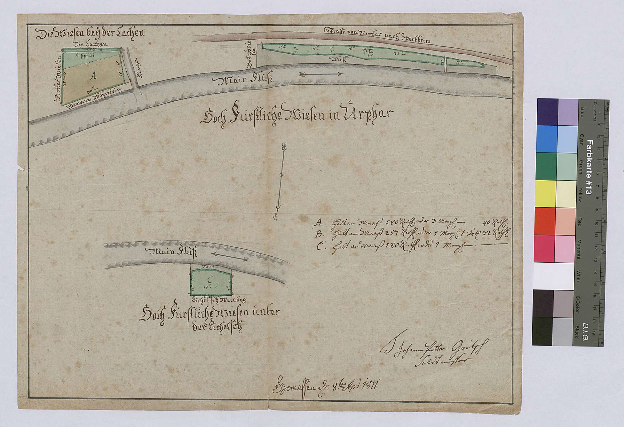 Wiesen in Urphar (Inselkarte), Bild 1