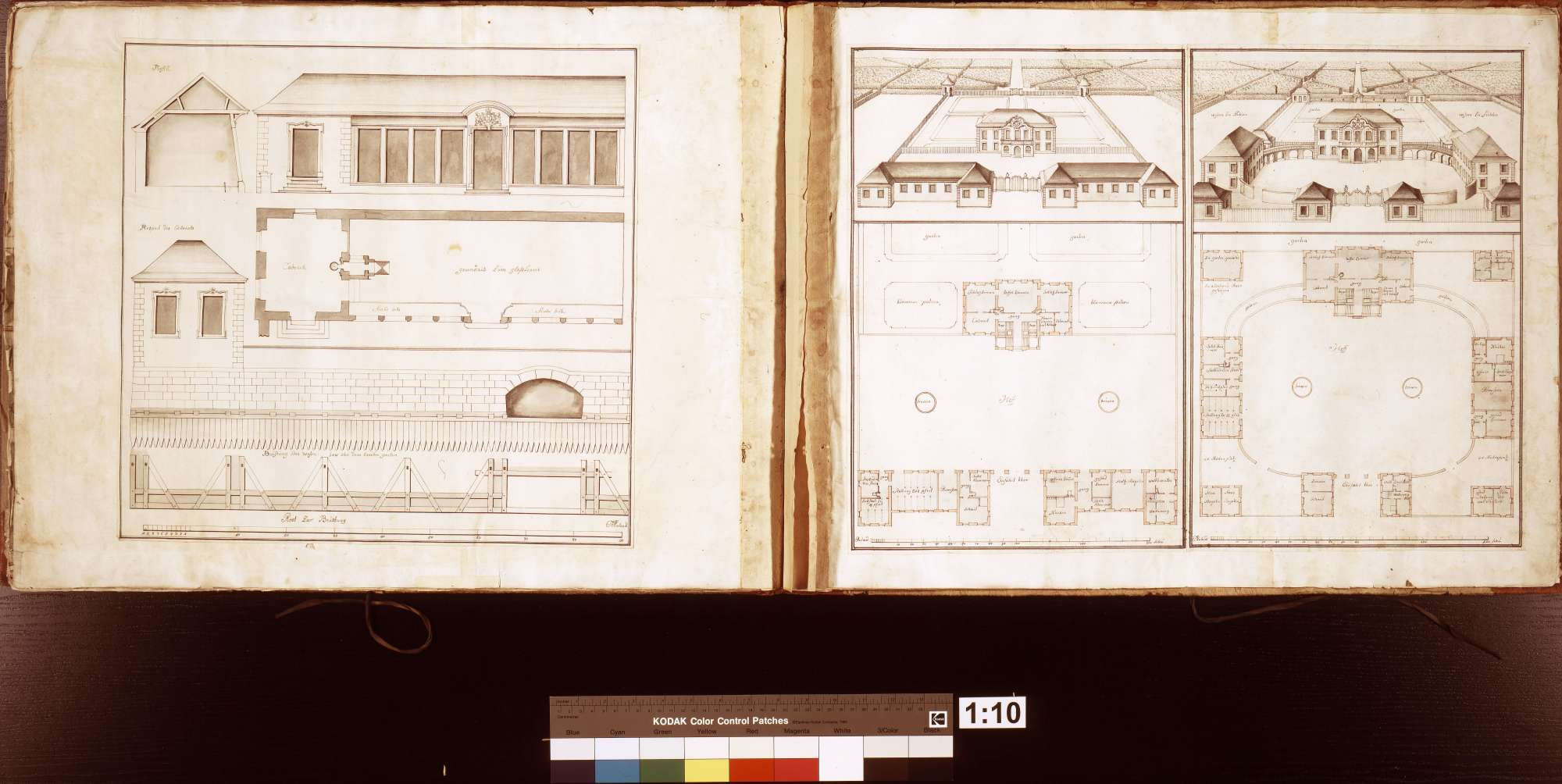 [Entwurf eines Glashauses für die Orangerie des Taubergartens in Wertheim], S. 34 linke Seite