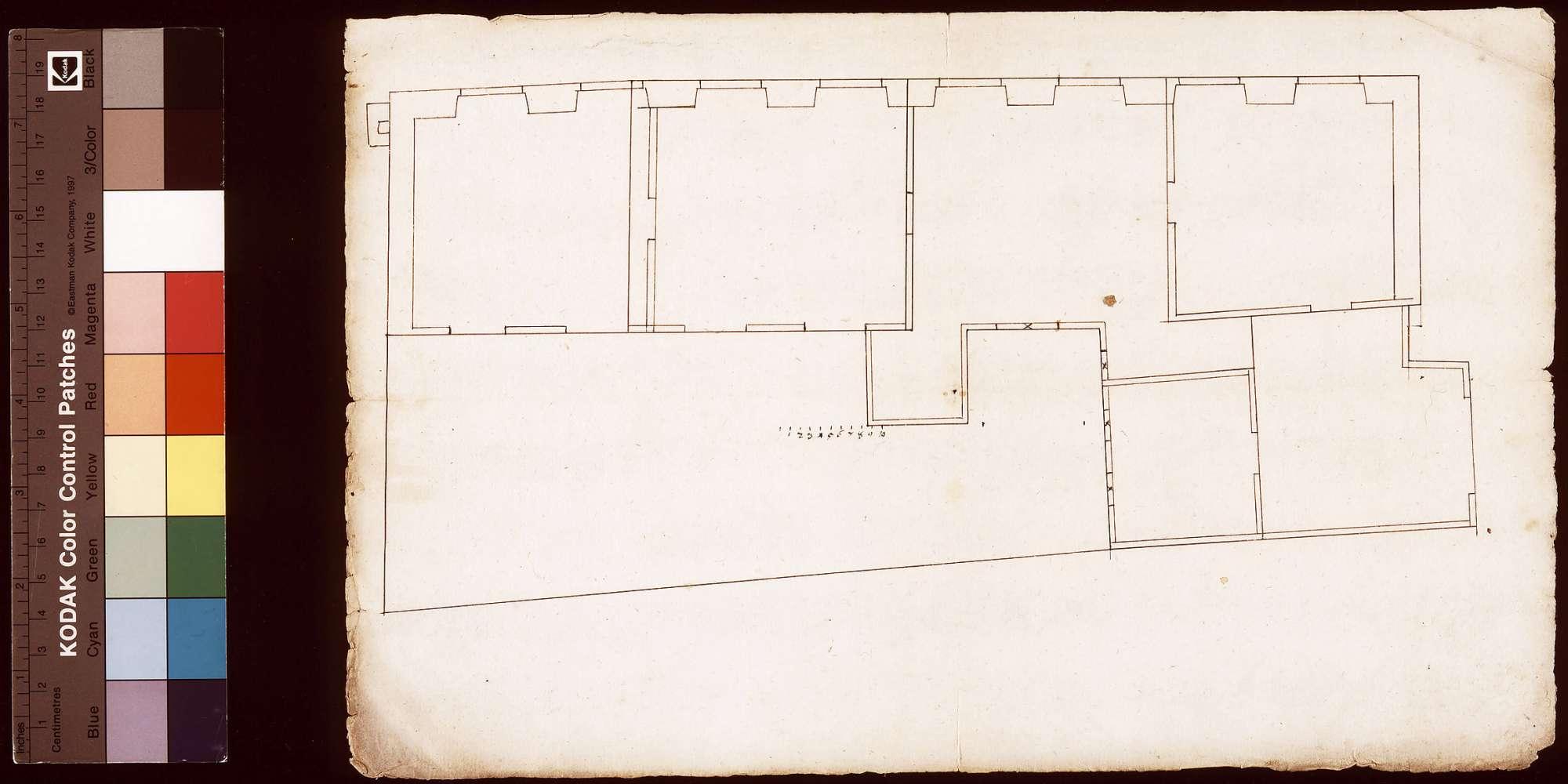 [Hausbau in der Brückengasse zu Wertheim], Bild 1