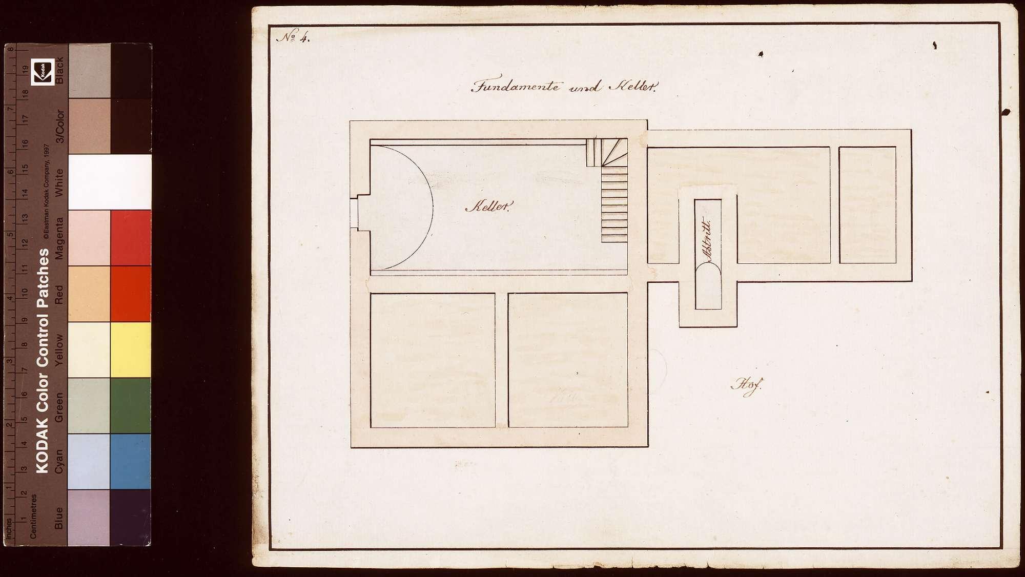 Umbau des Pfarrhauses in Hochhausen (Fundamente und Keller), Bild 1