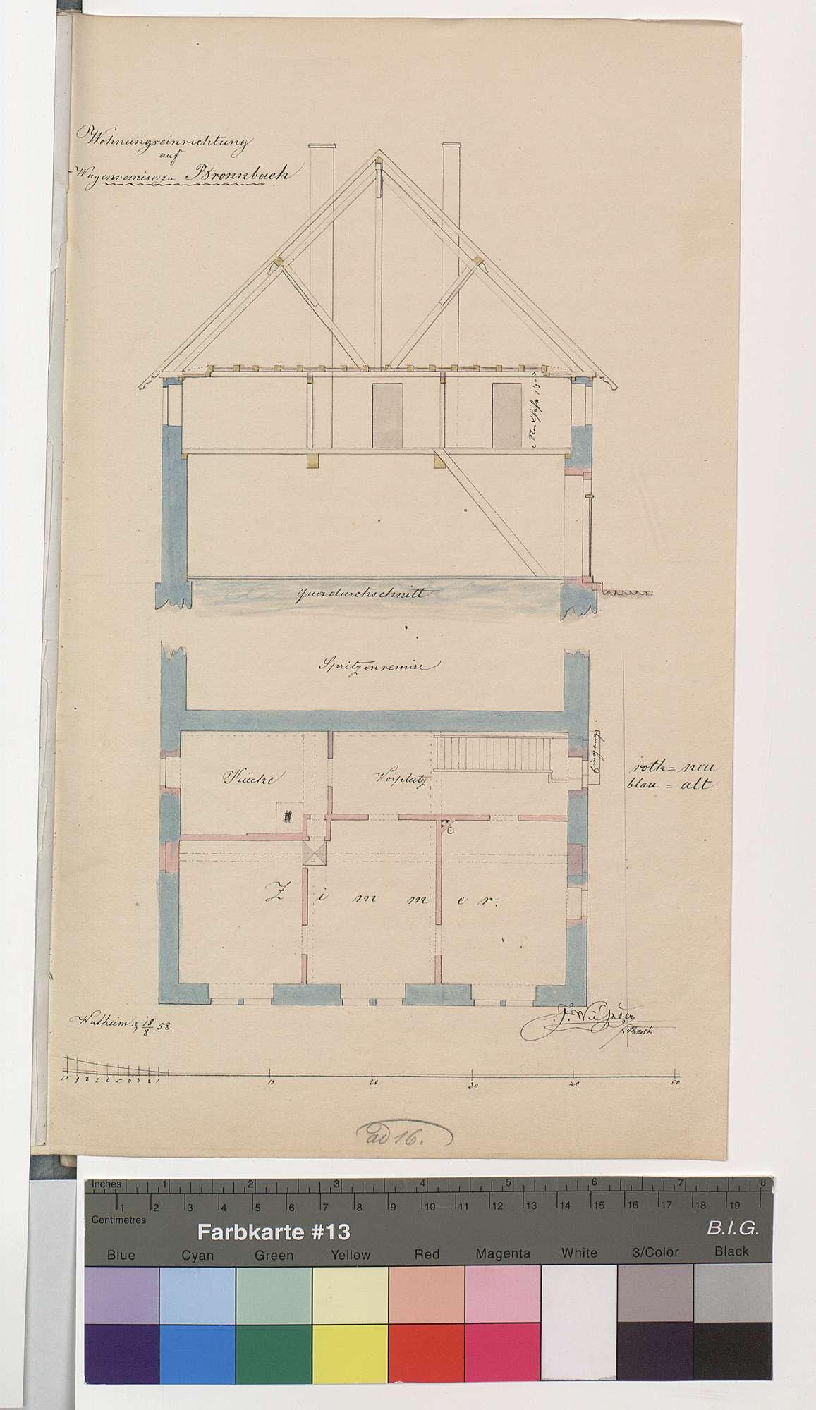 Wohnungseinrichtung auf der Wagenremise zu Bronnbach, Bild 1